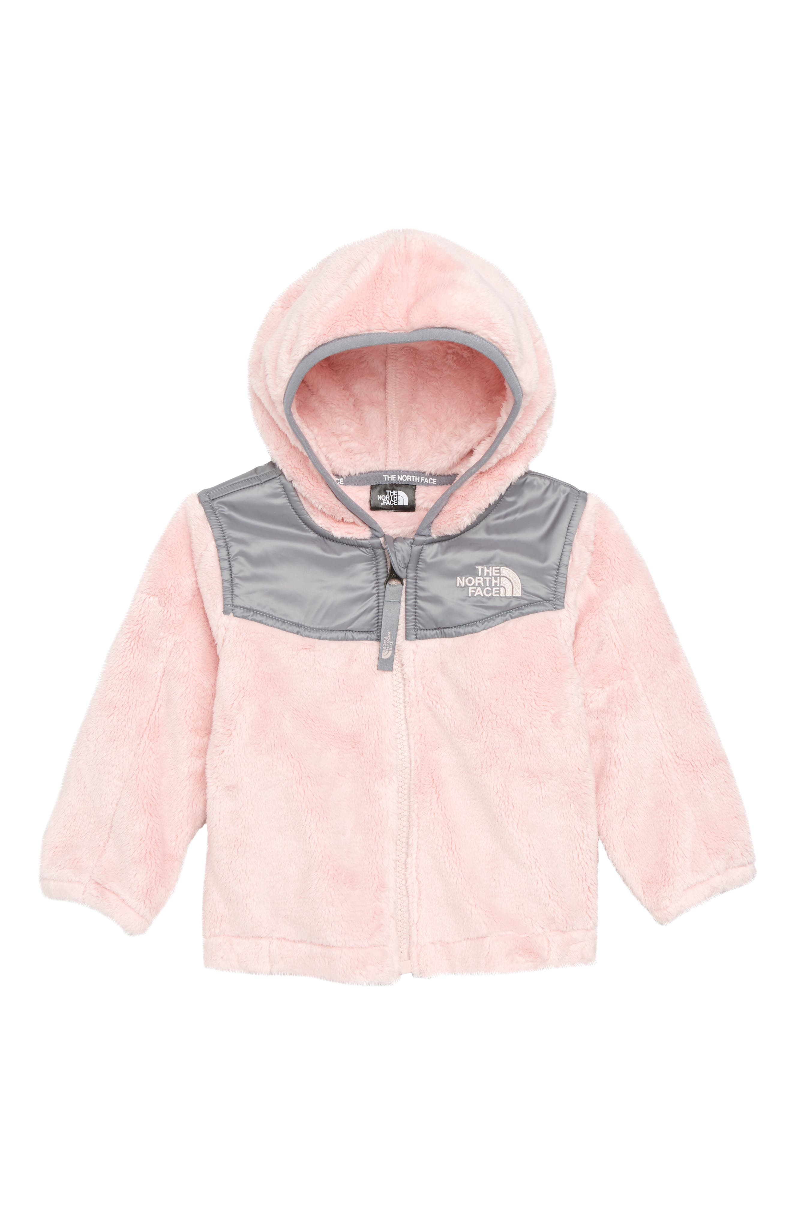 Oso Hooded Fleece Jacket,                         Main,                         color, PURDY PINK