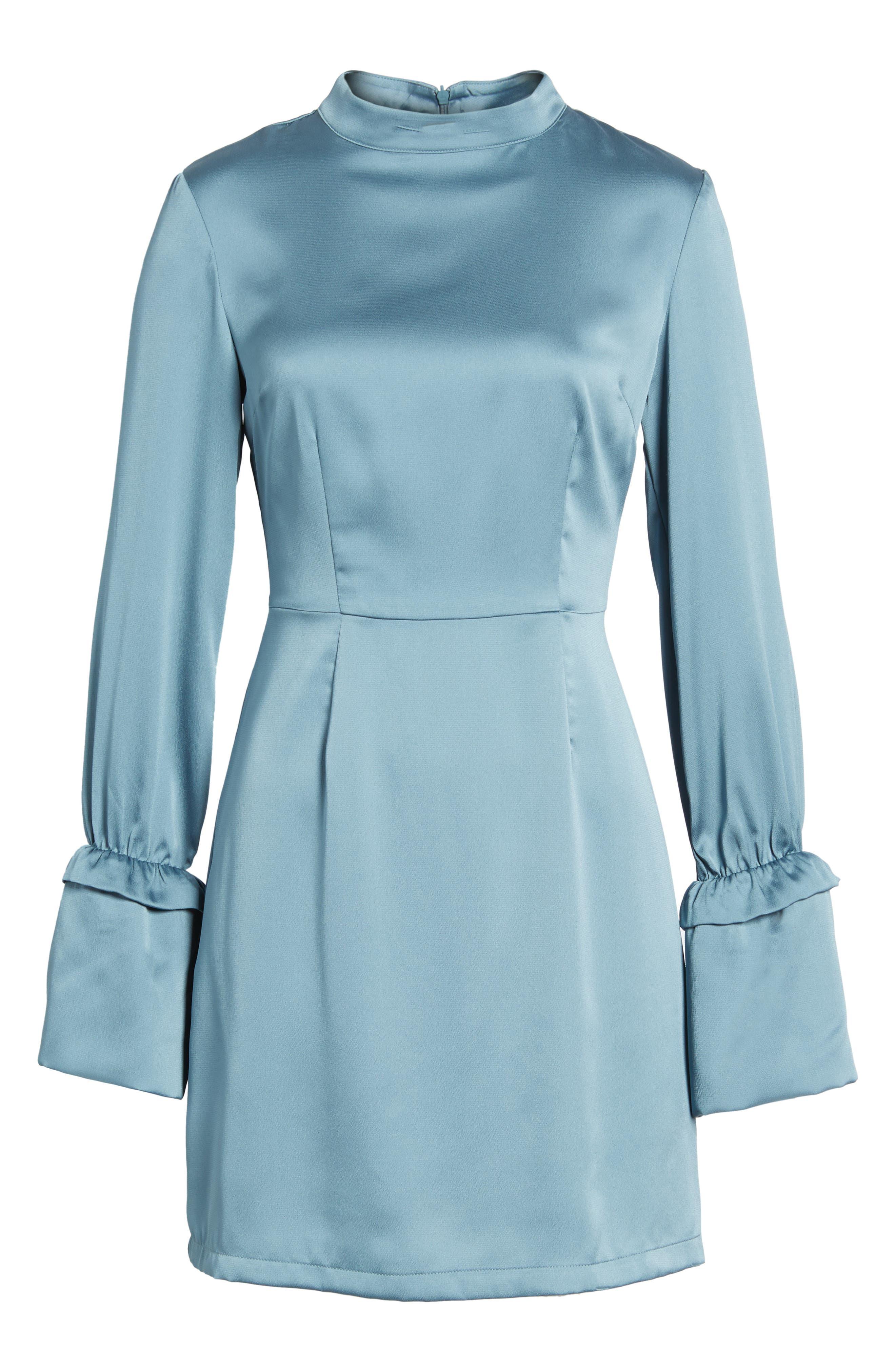 Cue the Beats A-Line Dress,                             Alternate thumbnail 6, color,                             422