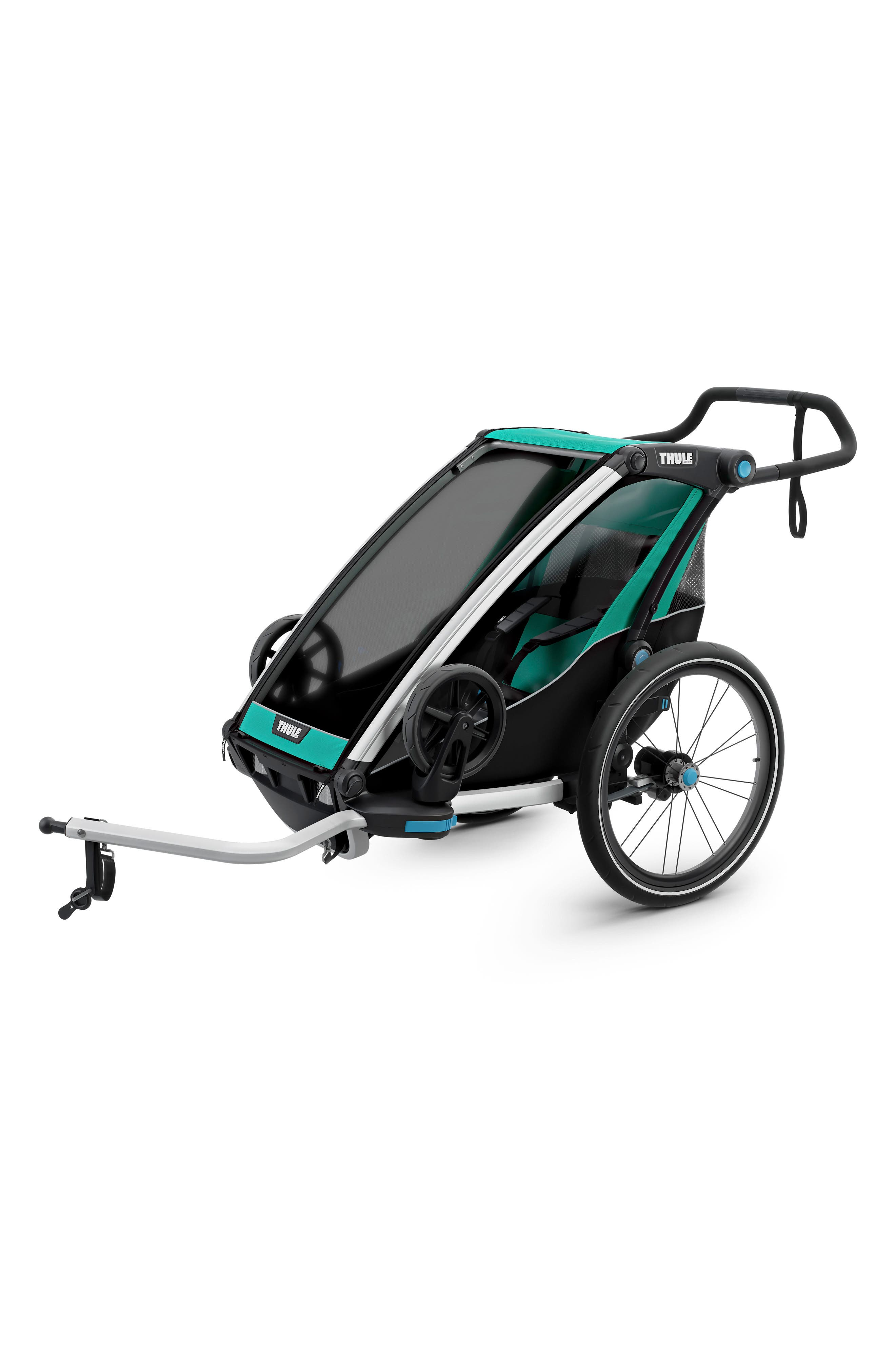 Chariot Lite Multisport Cycle Trailer/Stroller,                             Alternate thumbnail 2, color,                             BLUEGRASS