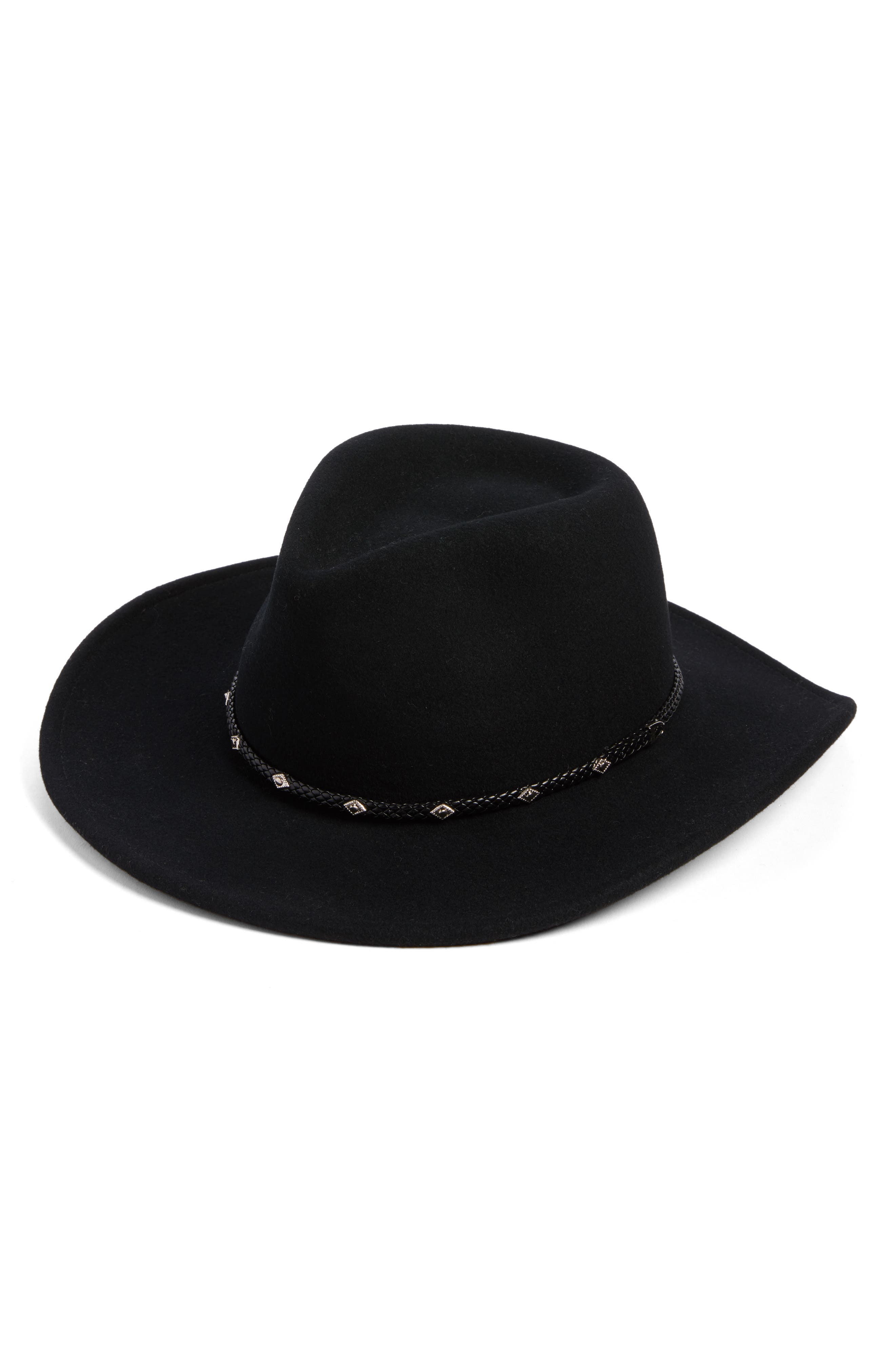 Roper Western Hat,                             Main thumbnail 1, color,                             001