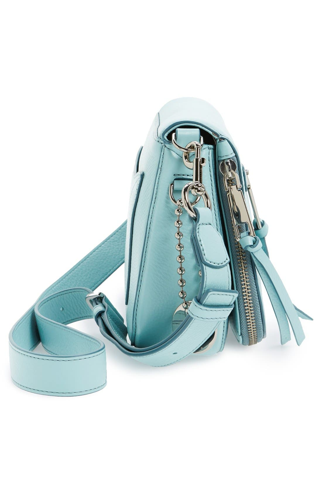 Small Recruit Nomad Pebbled Leather Crossbody Bag,                             Alternate thumbnail 65, color,