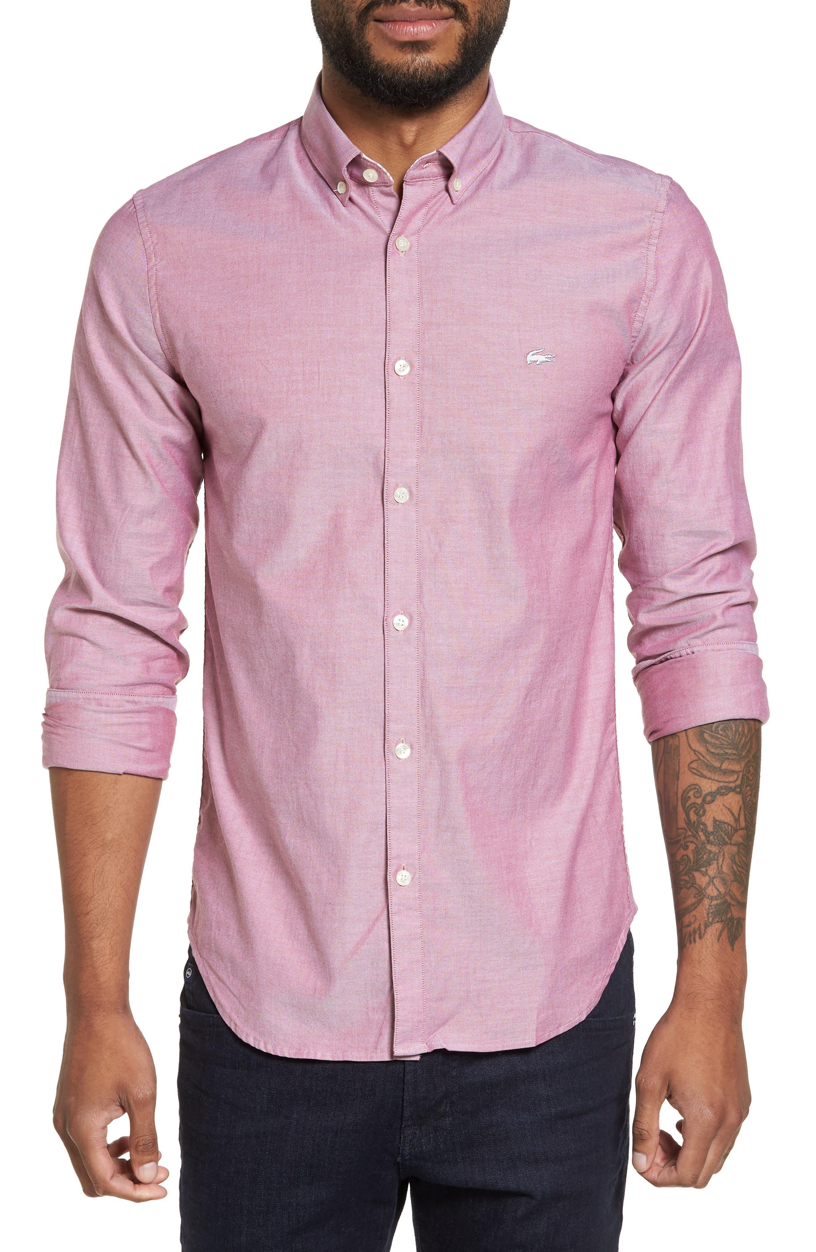 Button-Down Sport Shirt,                         Main,                         color, 060