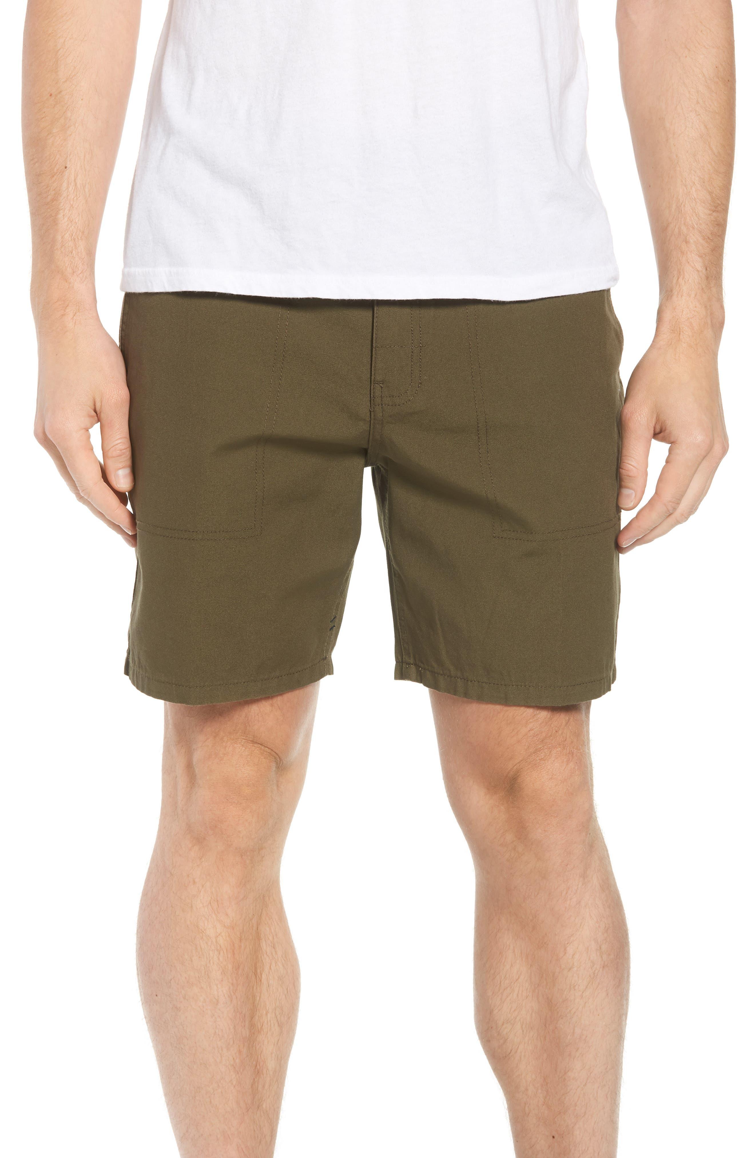 Collins Canvas Shorts,                             Main thumbnail 2, color,