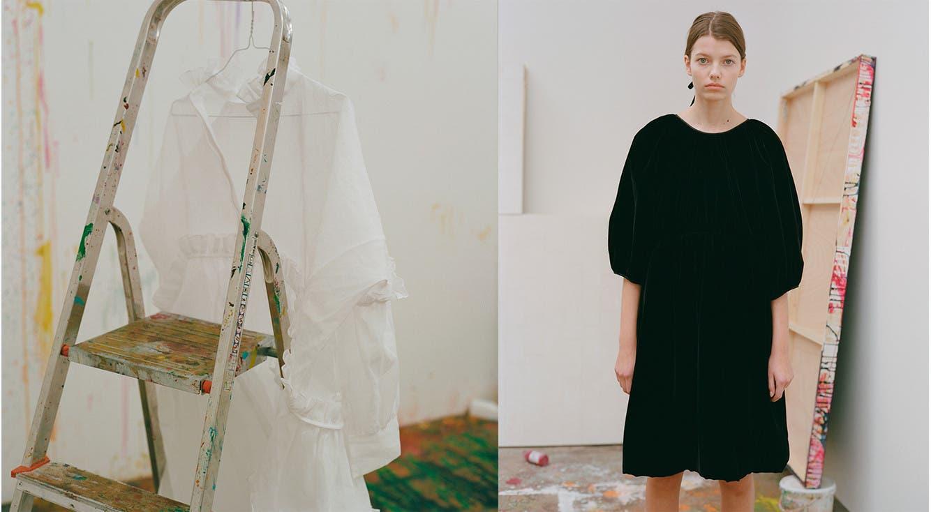 Cecilie Bahnsen designer clothes.