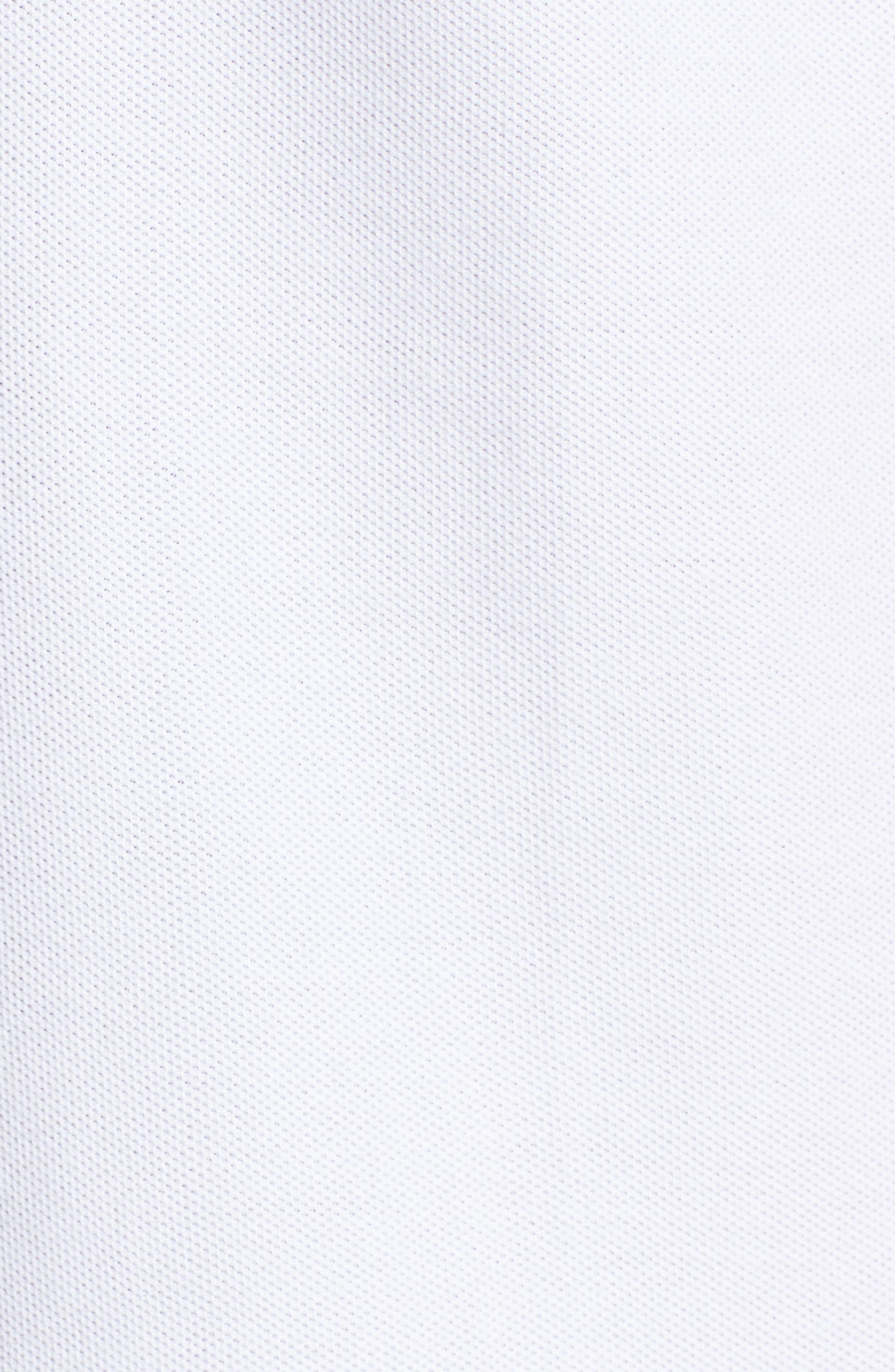 Classic Piqué Polo,                             Alternate thumbnail 5, color,                             WHITE