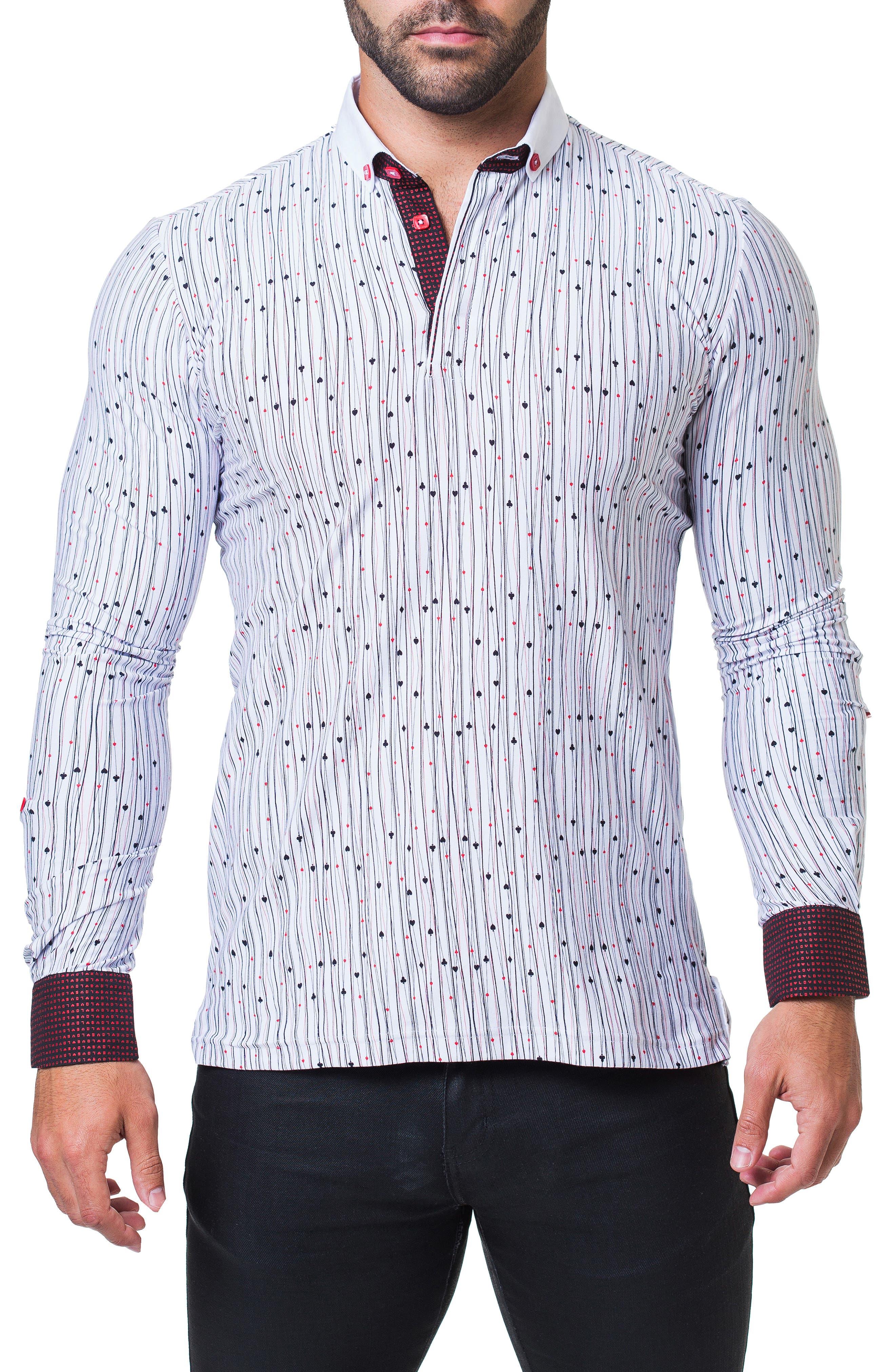 Newton Vegas Long Sleeve Polo,                             Main thumbnail 1, color,                             WHITE