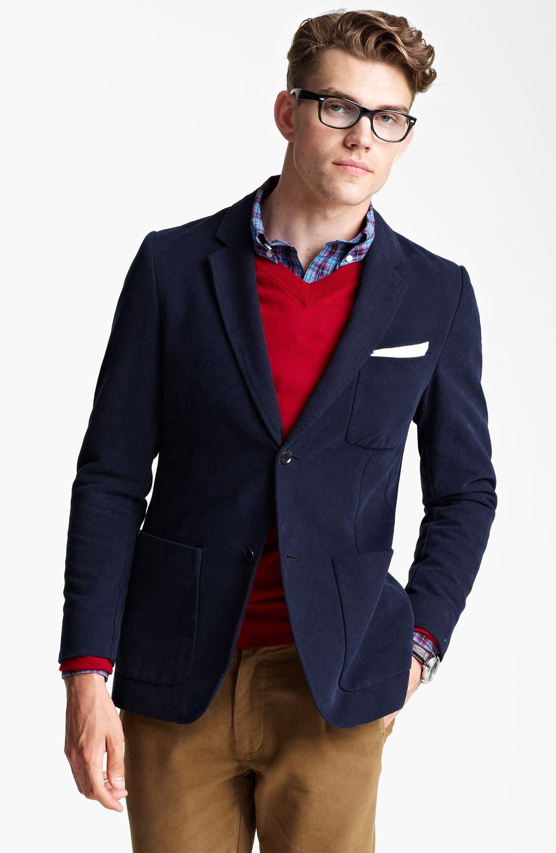JACK SPADE 'Adler' Blazer, Main, color, 410