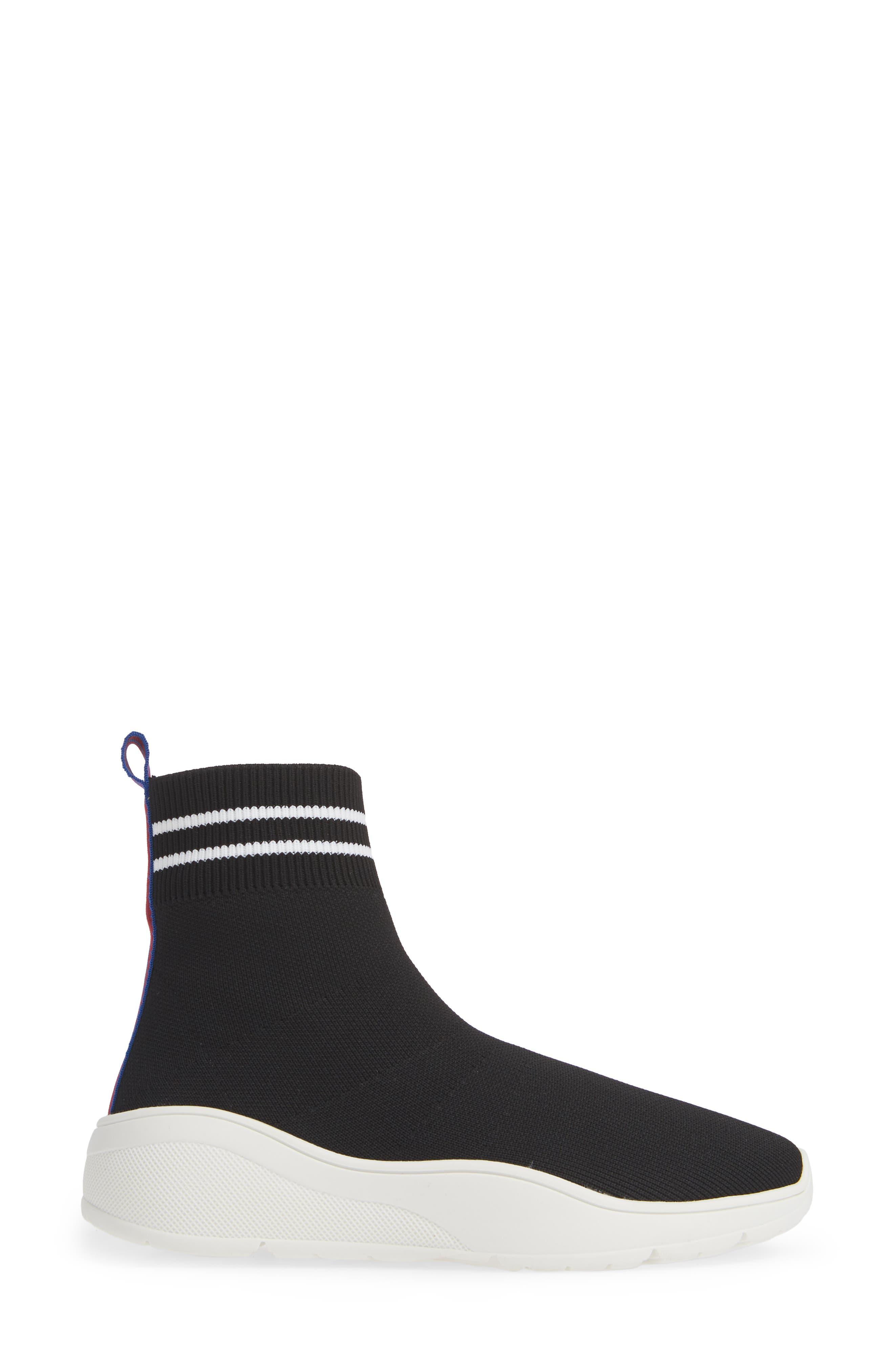 Found Sock Sneaker,                             Alternate thumbnail 3, color,                             BLACK