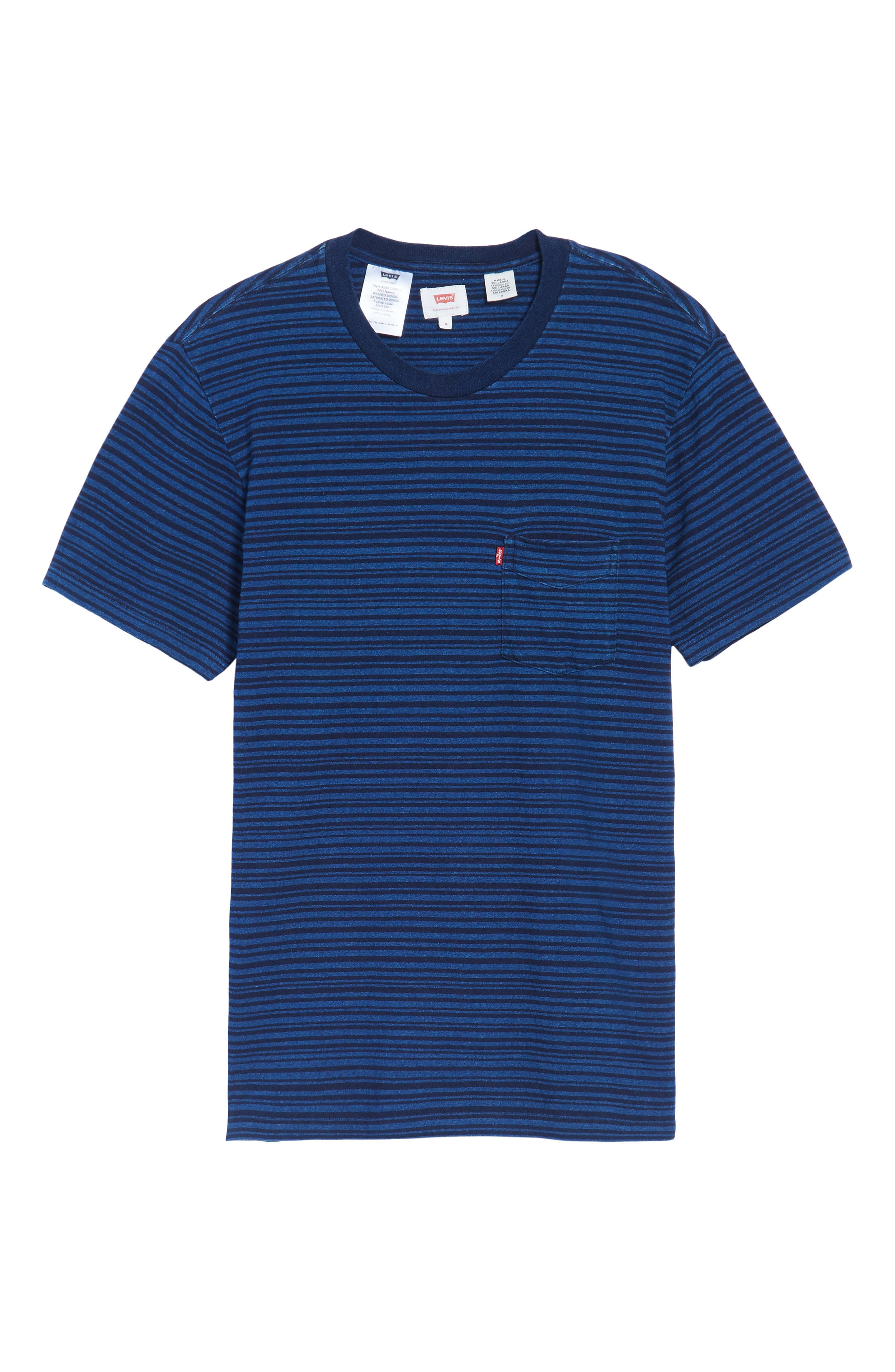 Stripe Pocket T-Shirt,                             Alternate thumbnail 6, color,                             400