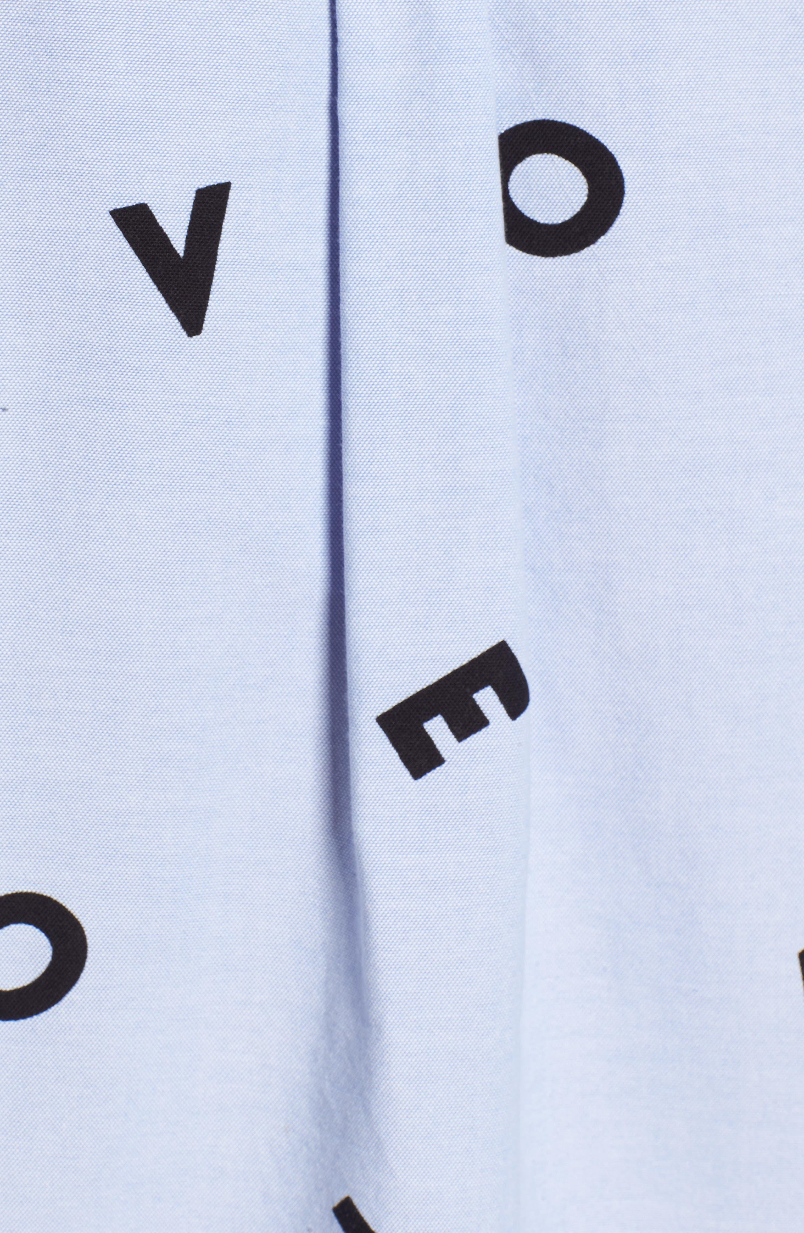 The Derby Love Print Shirt,                             Alternate thumbnail 5, color,                             474