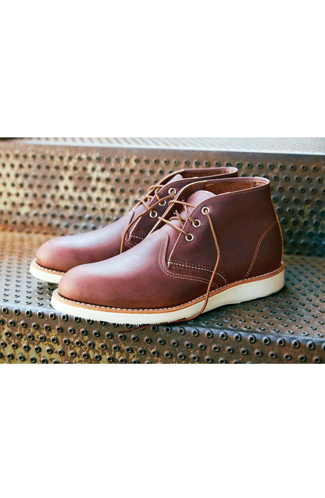 'Classic' Chukka Boot,                             Alternate thumbnail 8, color,                             CHARCOAL