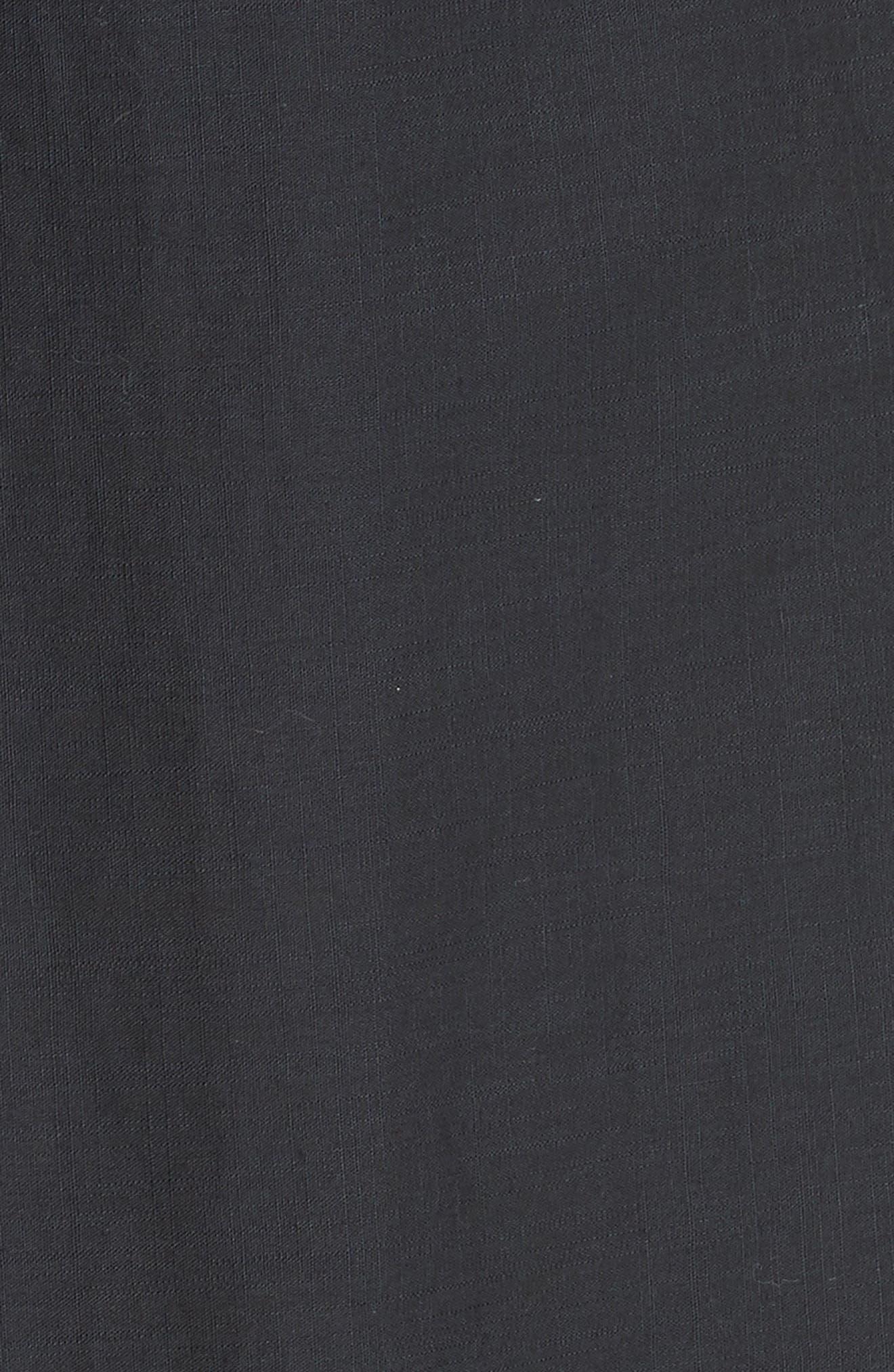 Alouette Eyelet Hem Dress,                             Alternate thumbnail 6, color,                             400