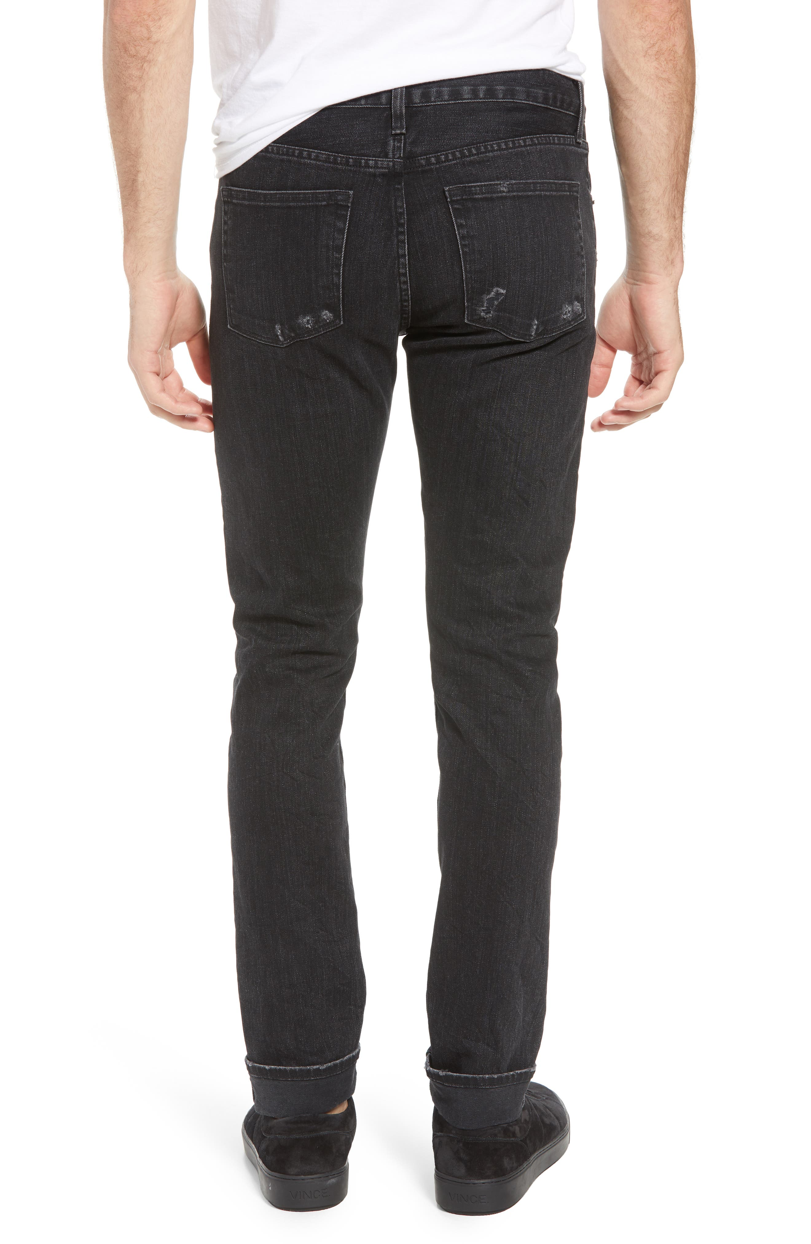 Tyler Slim Fit Jeans,                             Alternate thumbnail 2, color,                             009