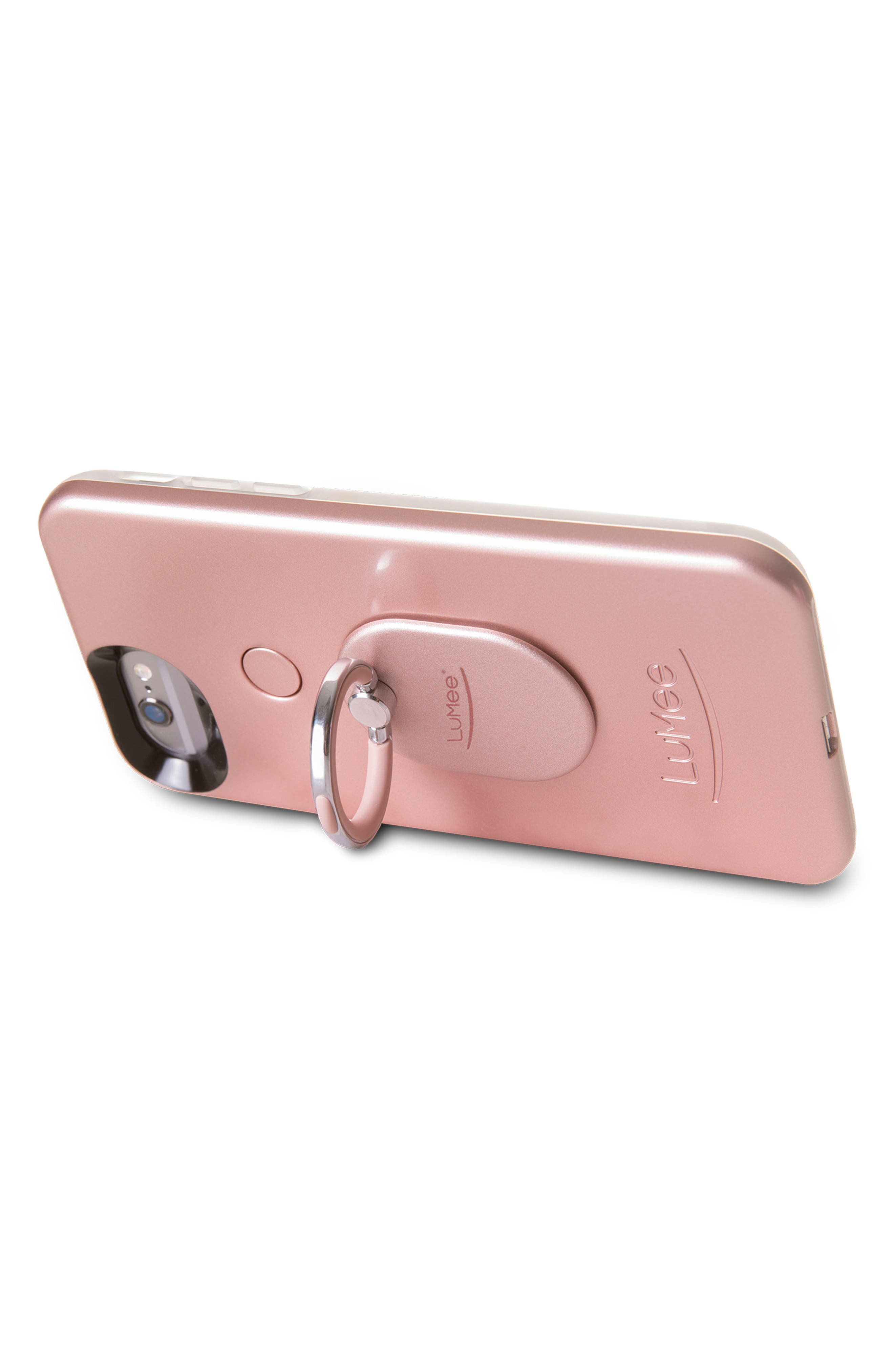 LUMEE,                             Ring Phone Case Grip,                             Alternate thumbnail 3, color,                             001