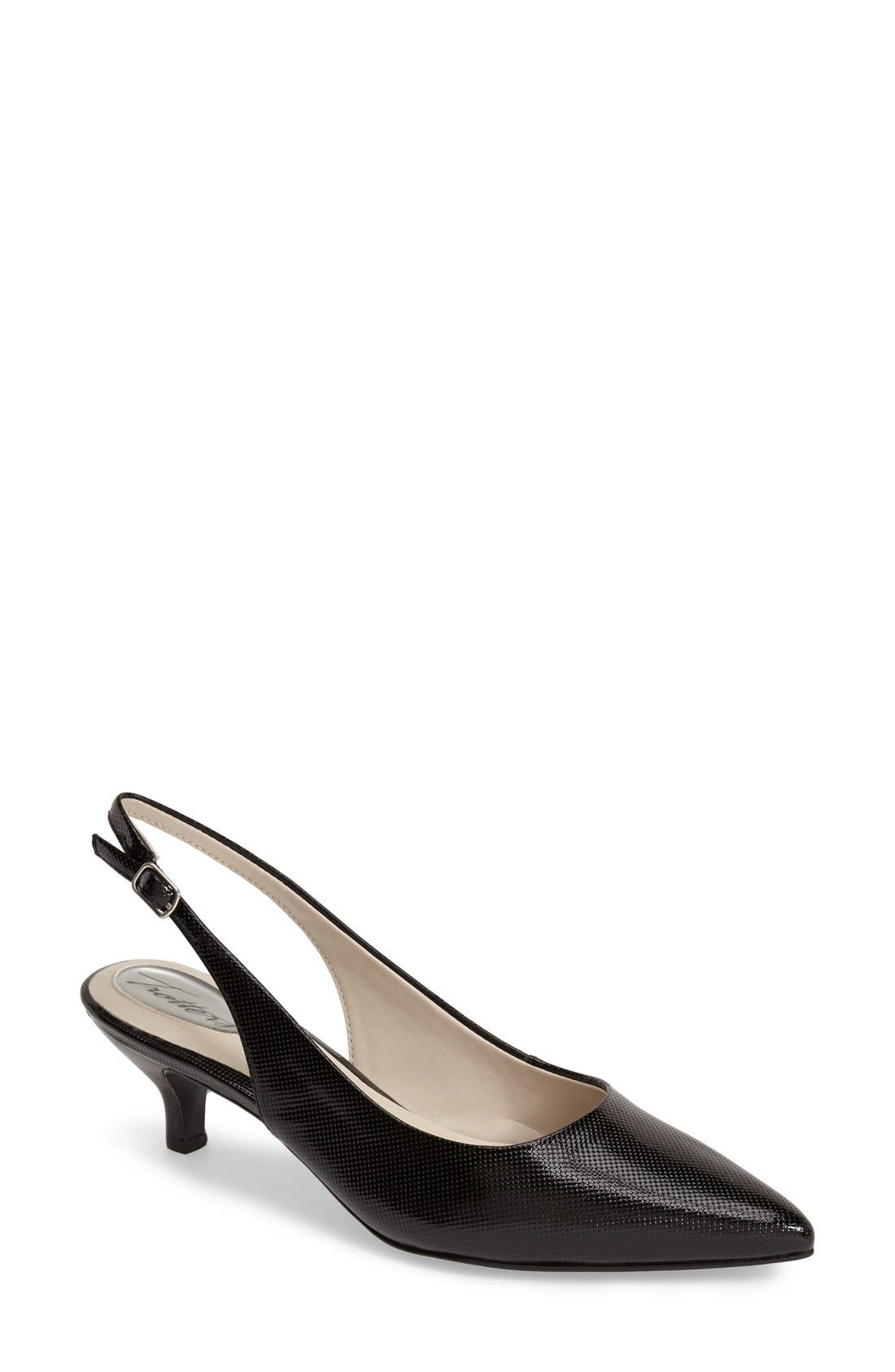 'Prima' Pump,                             Main thumbnail 1, color,                             BLACK