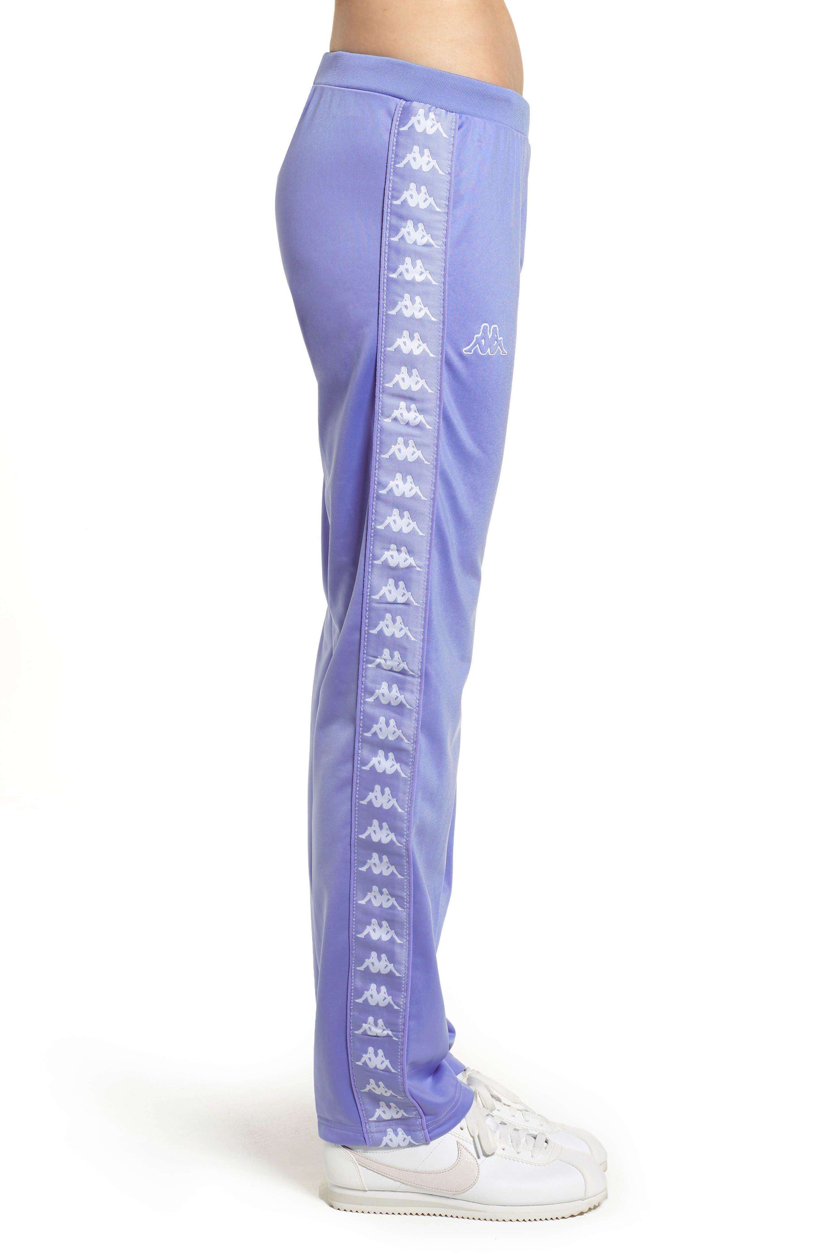 Active Wastoria Track Pants,                             Alternate thumbnail 3, color,                             VIOLET-WHITE