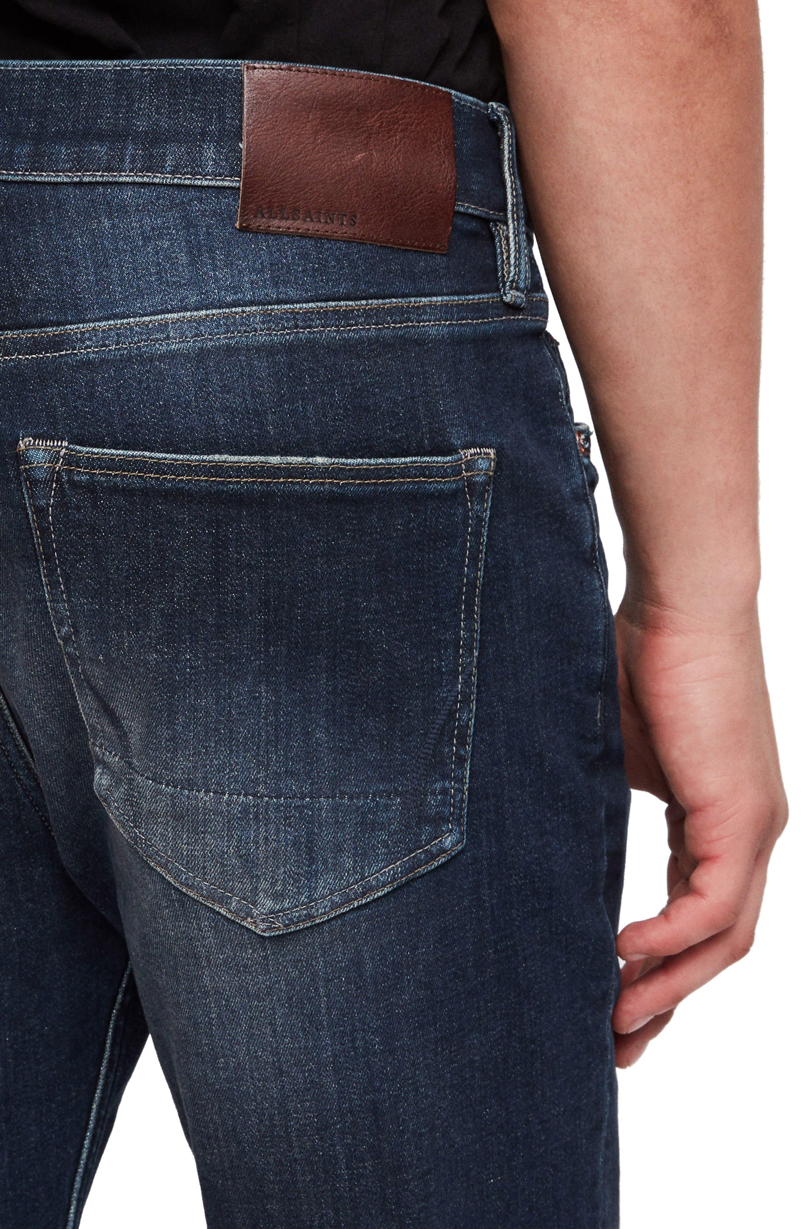 Rex Slim Fit Stretch Straight Leg Jeans,                             Alternate thumbnail 3, color,                             460
