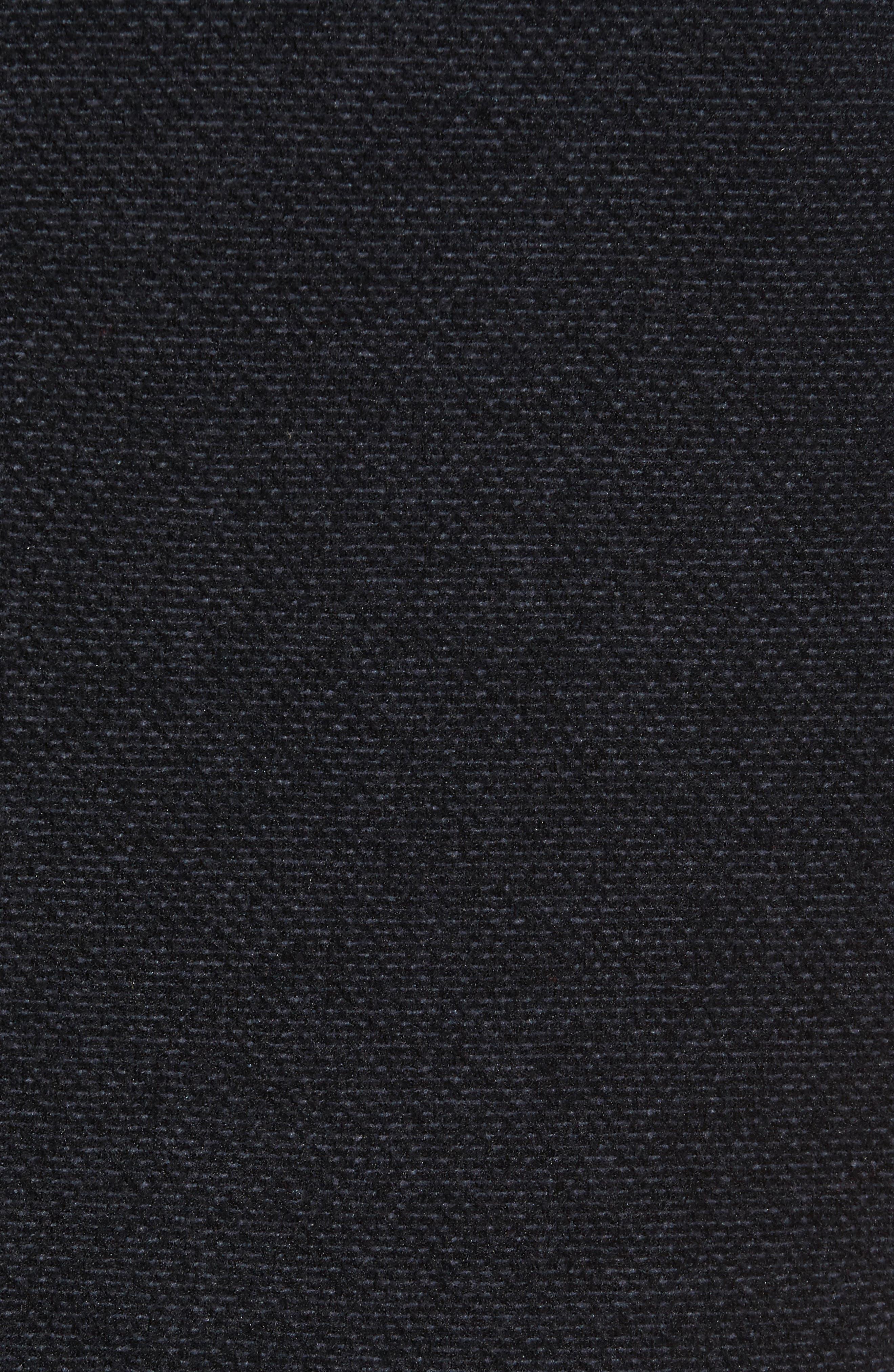 Quilted Yoke Fleece Vest,                             Alternate thumbnail 6, color,