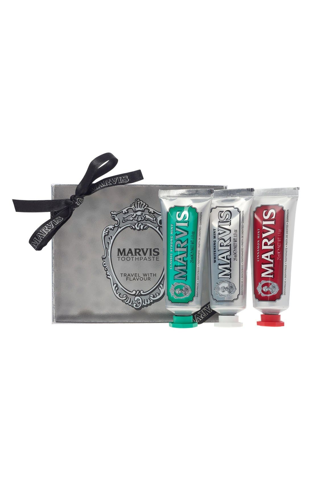 Marvis Travel with Flavor Set,                         Main,                         color, 000