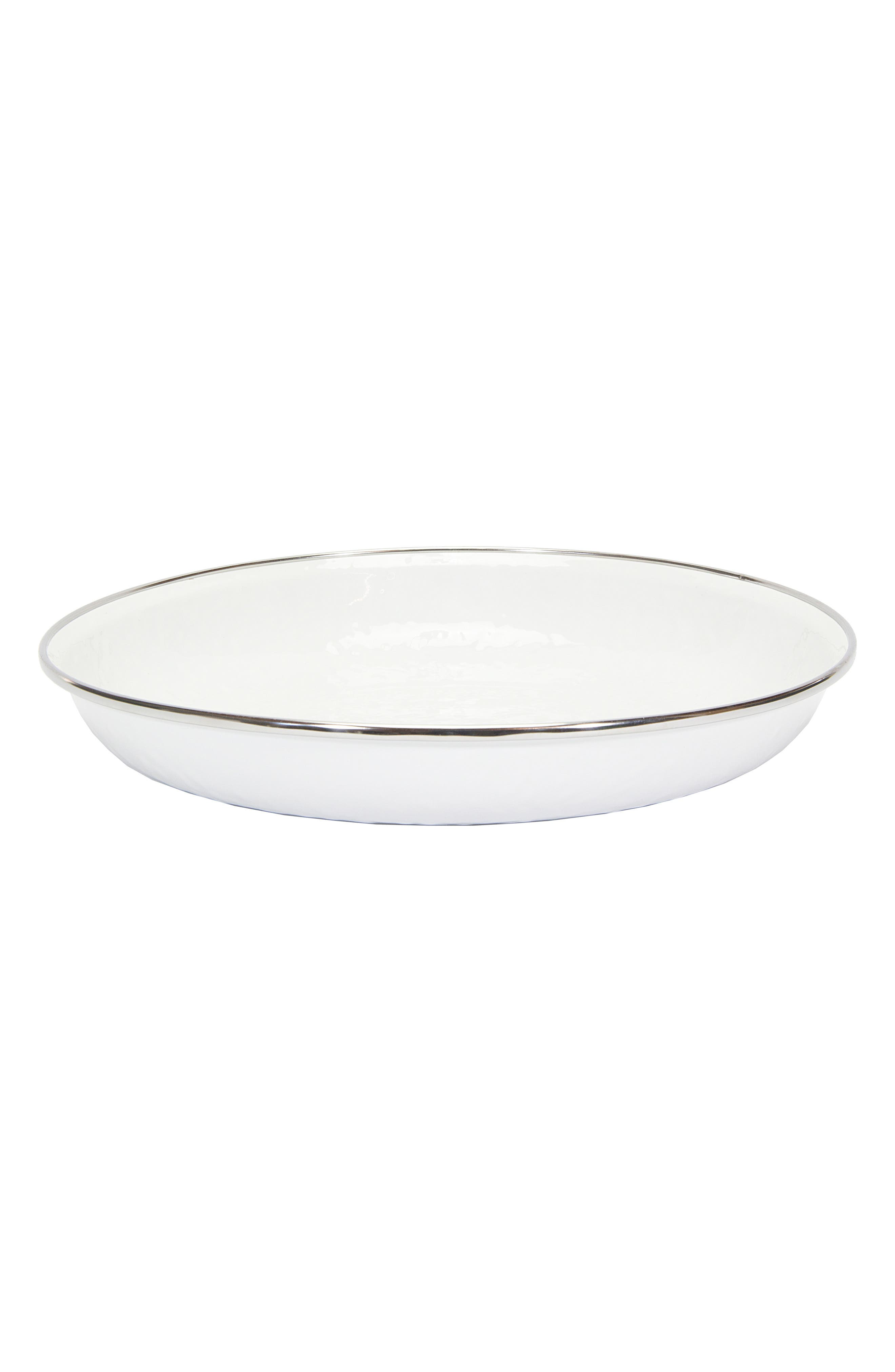Pasta Plate,                             Main thumbnail 1, color,                             SOLID WHITE