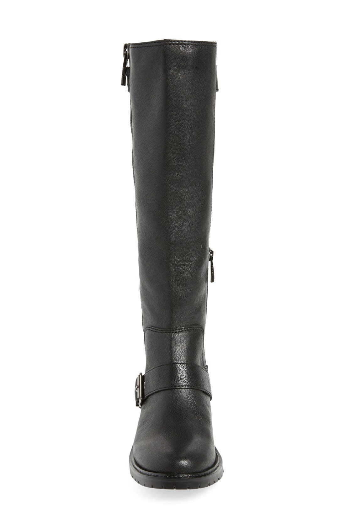 BCBGENERATION,                             'Shayna' Tall Riding Boot,                             Alternate thumbnail 3, color,                             001