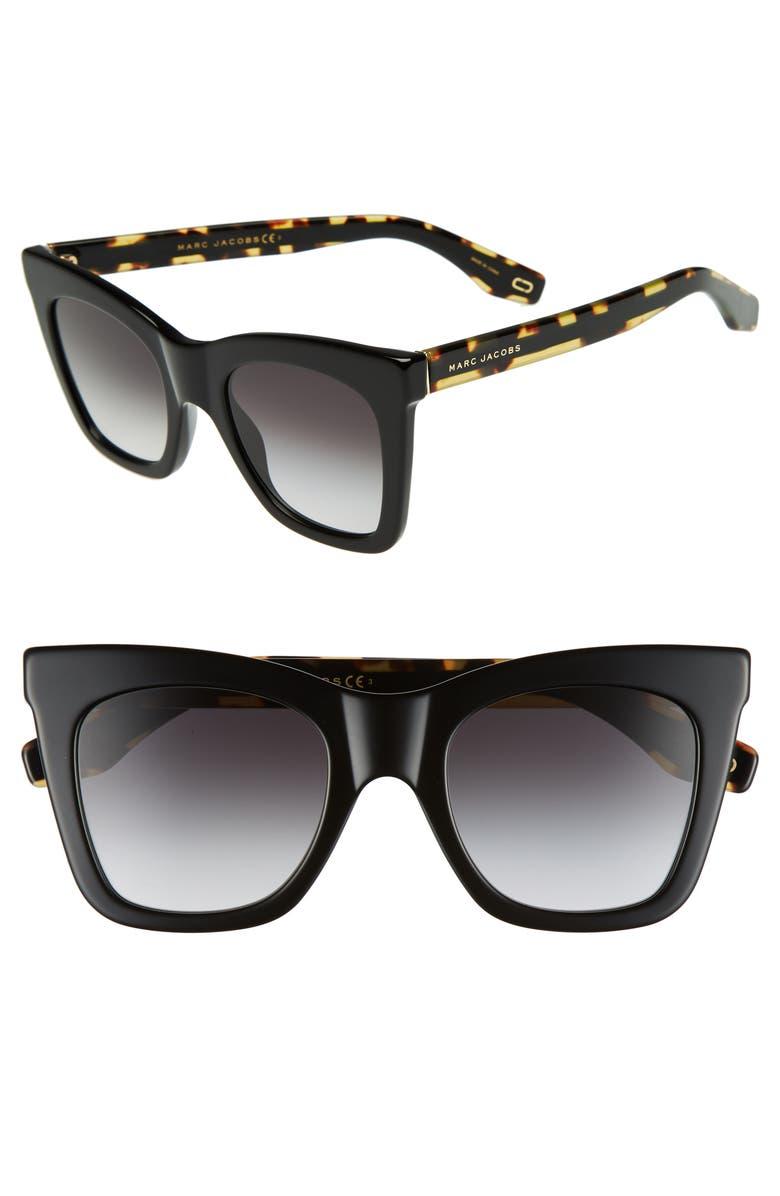 4879ecc33e3 MARC JACOBS 50mm Cat Eye Sunglasses