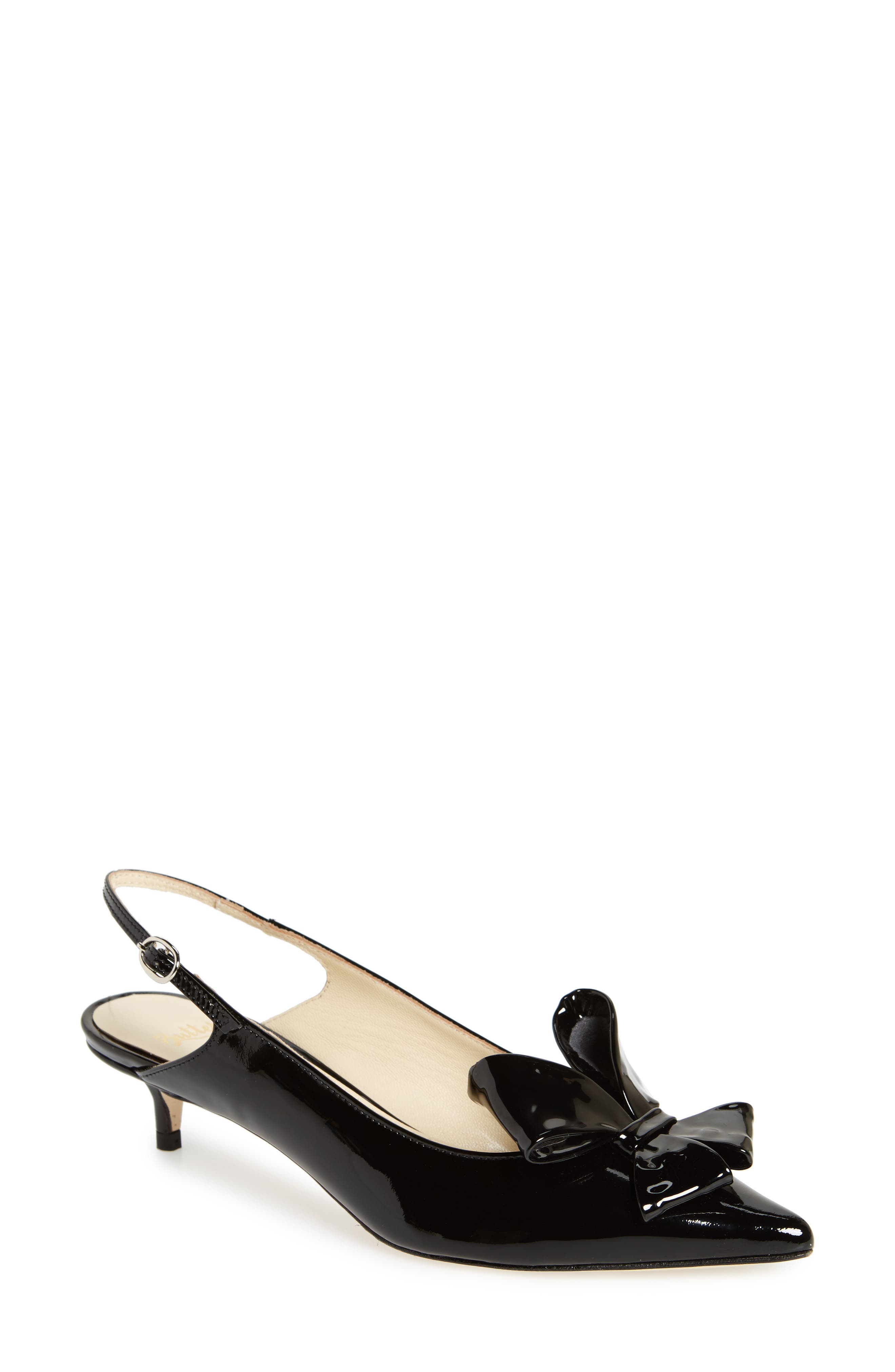 Butter Bee Slingback Pump,                         Main,                         color, 001