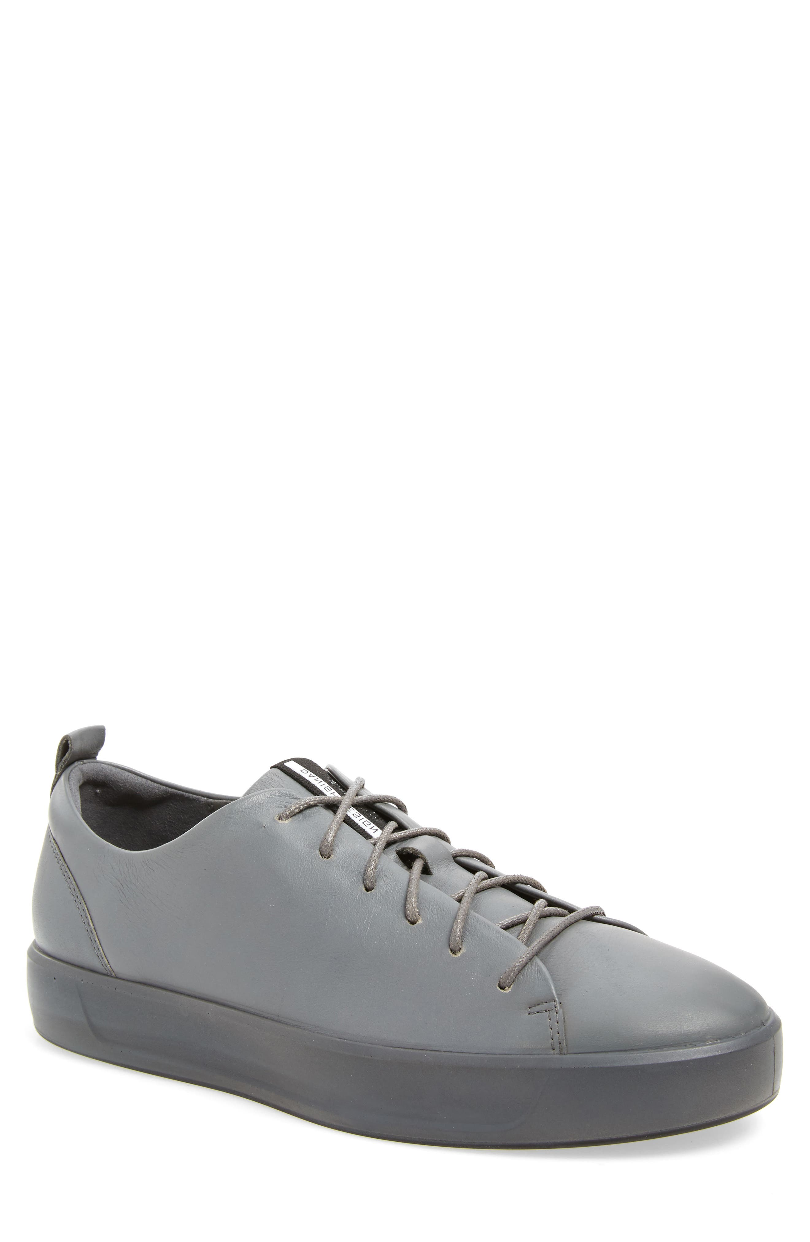 Soft 8 Sneaker,                         Main,                         color, TITANIUM LEATHER