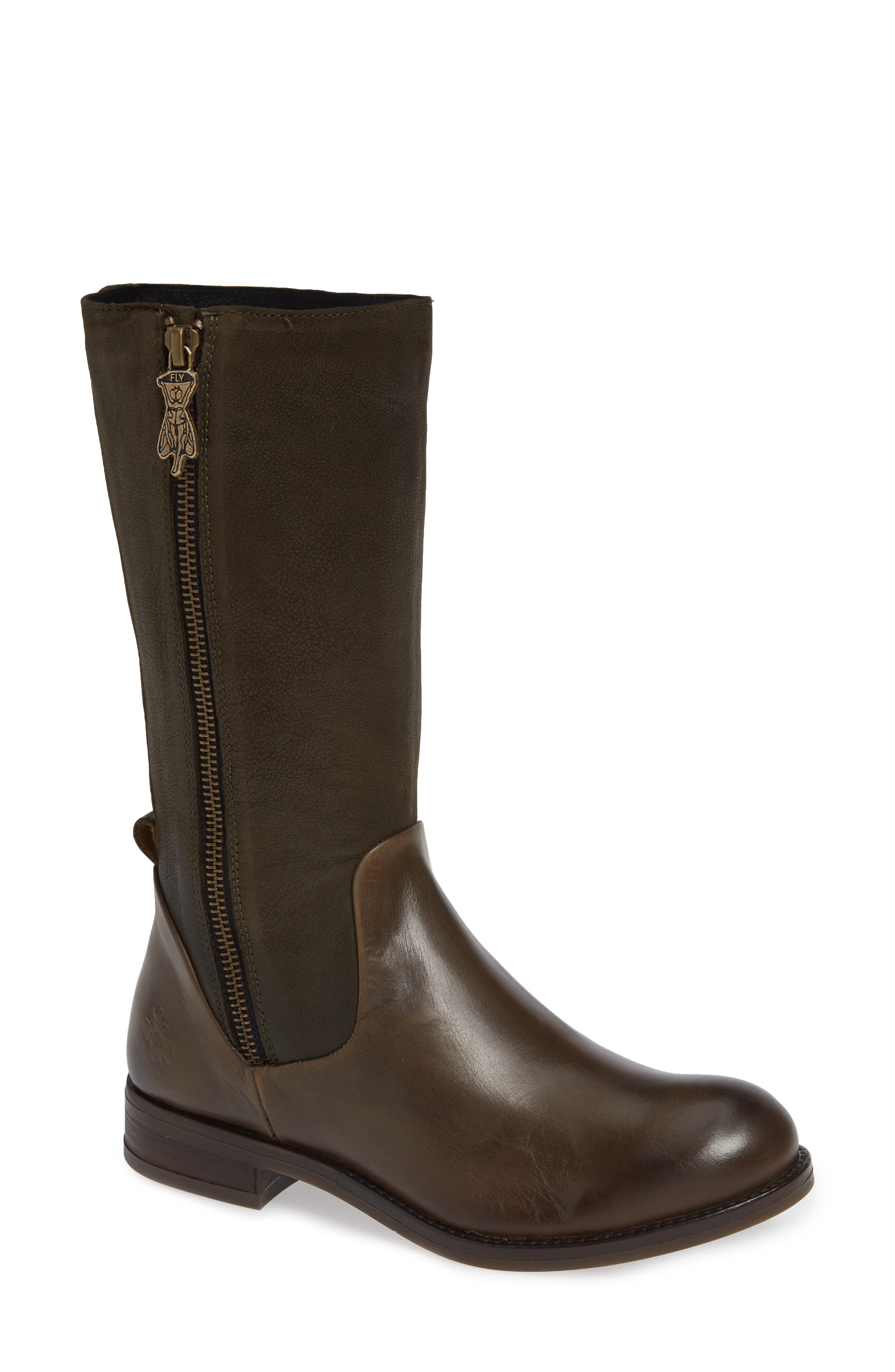 Aedi Boot,                             Main thumbnail 1, color,                             OLIVE/ SEAWEED LEATHER