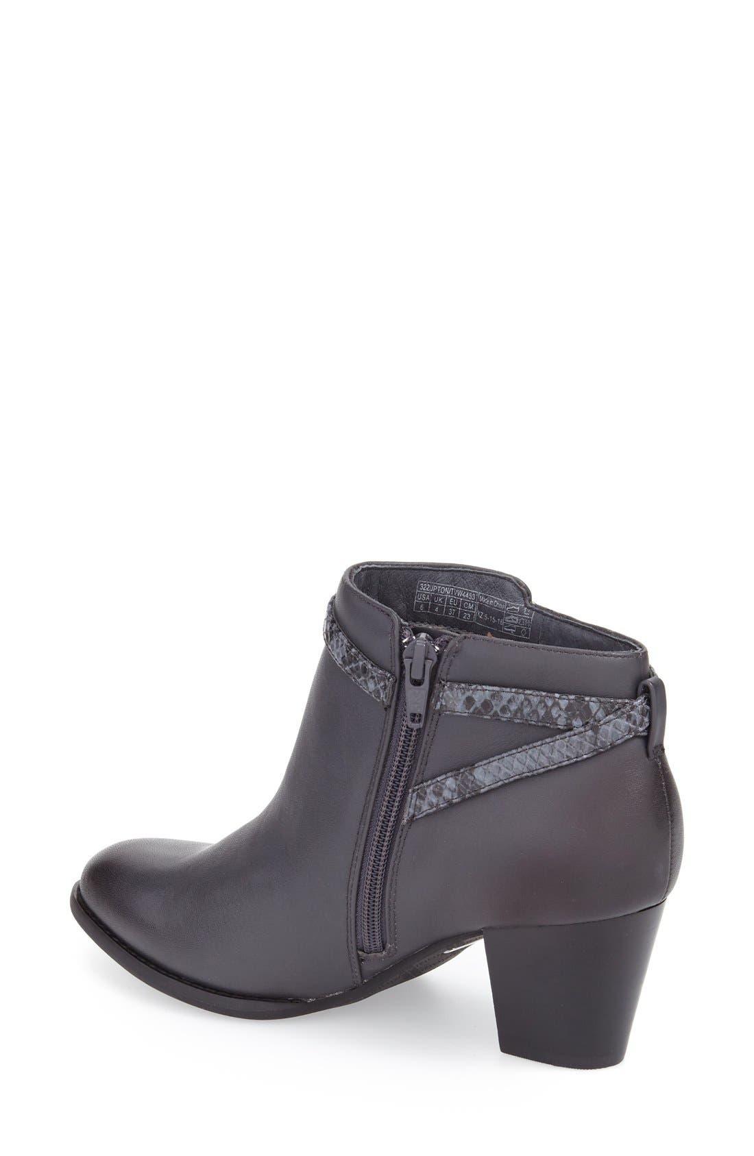 'Upton' Block Heel Boot,                             Alternate thumbnail 6, color,