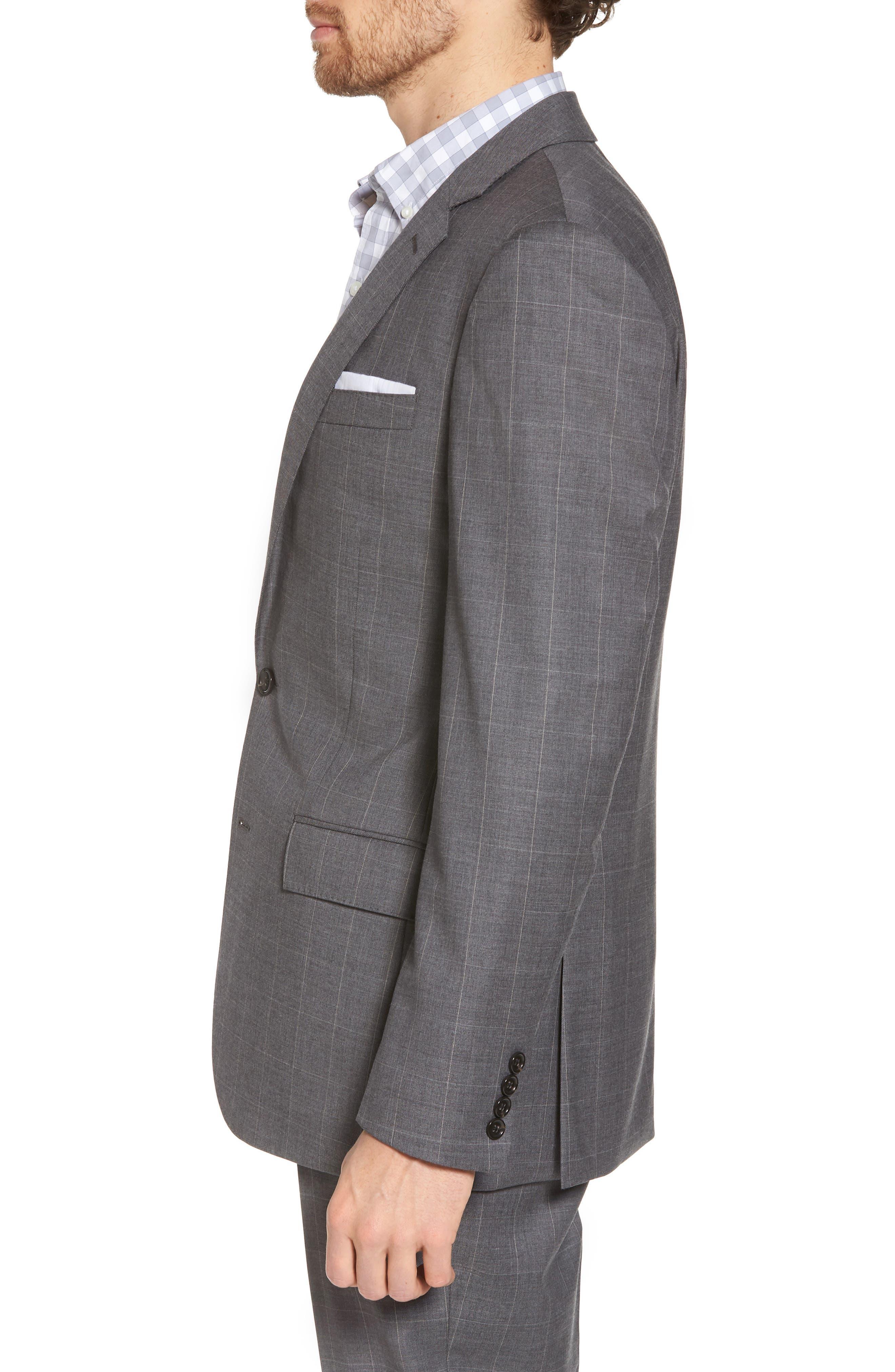 Ludlow Wool Blend Sport Coat,                             Alternate thumbnail 3, color,                             029