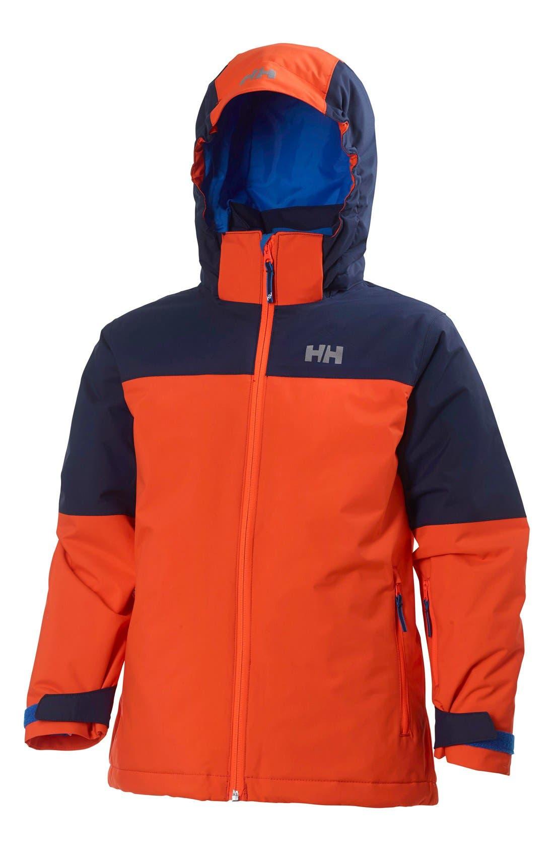 'Progress' Waterproof Hooded Jacket,                             Main thumbnail 4, color,
