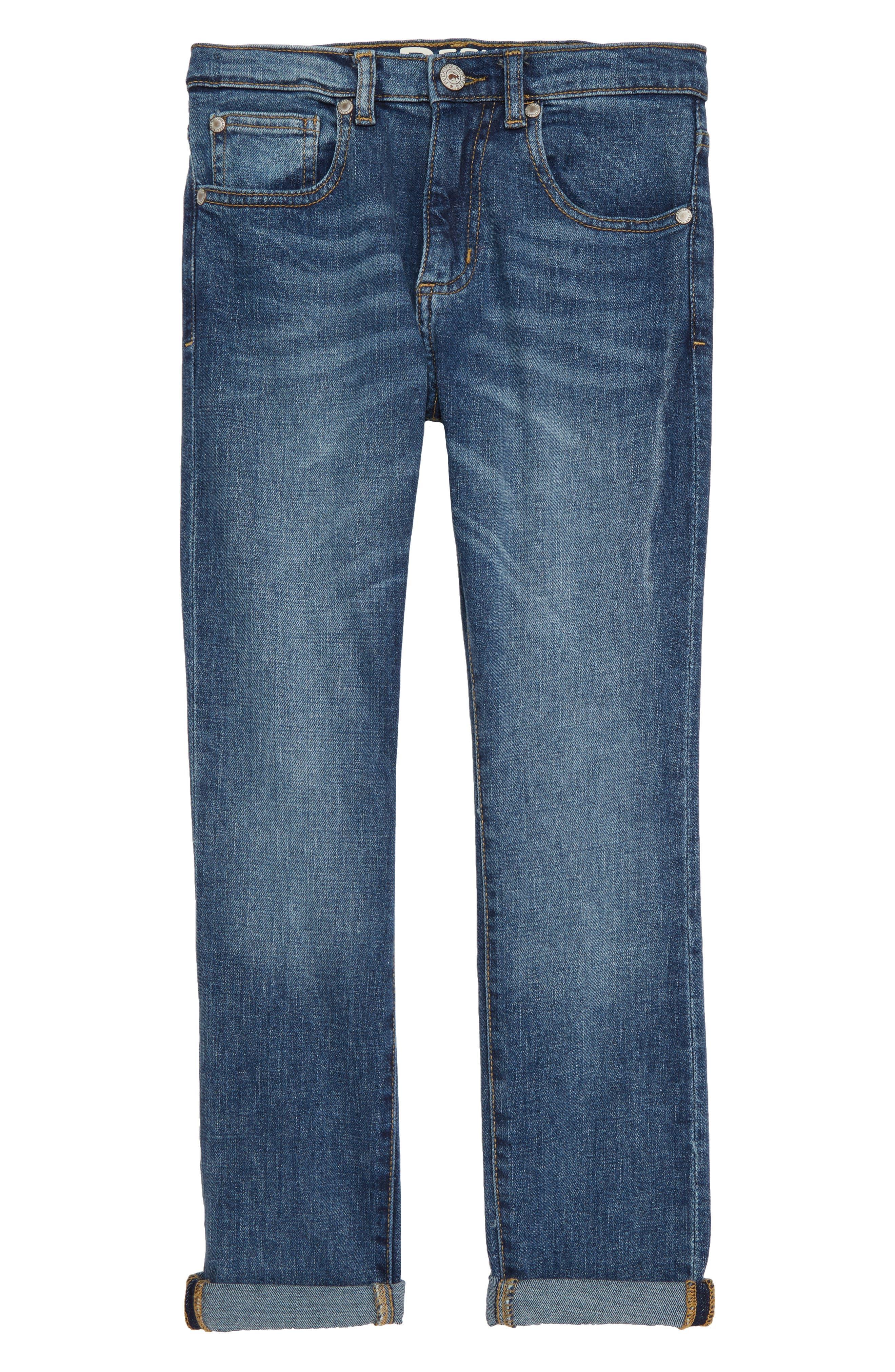 Slouch Jeans,                             Main thumbnail 1, color,                             MEDIUM WASH