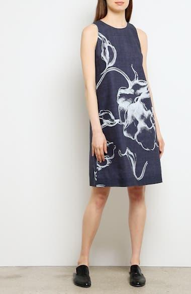 Hana Print Chambray Dress, video thumbnail