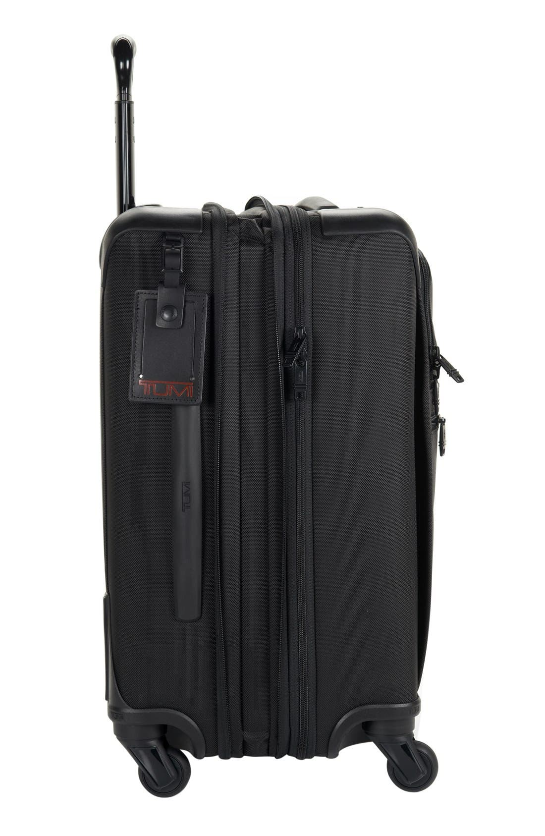 Alpha 2 Continental 22-Inch Carry-On,                             Alternate thumbnail 9, color,                             BLACK
