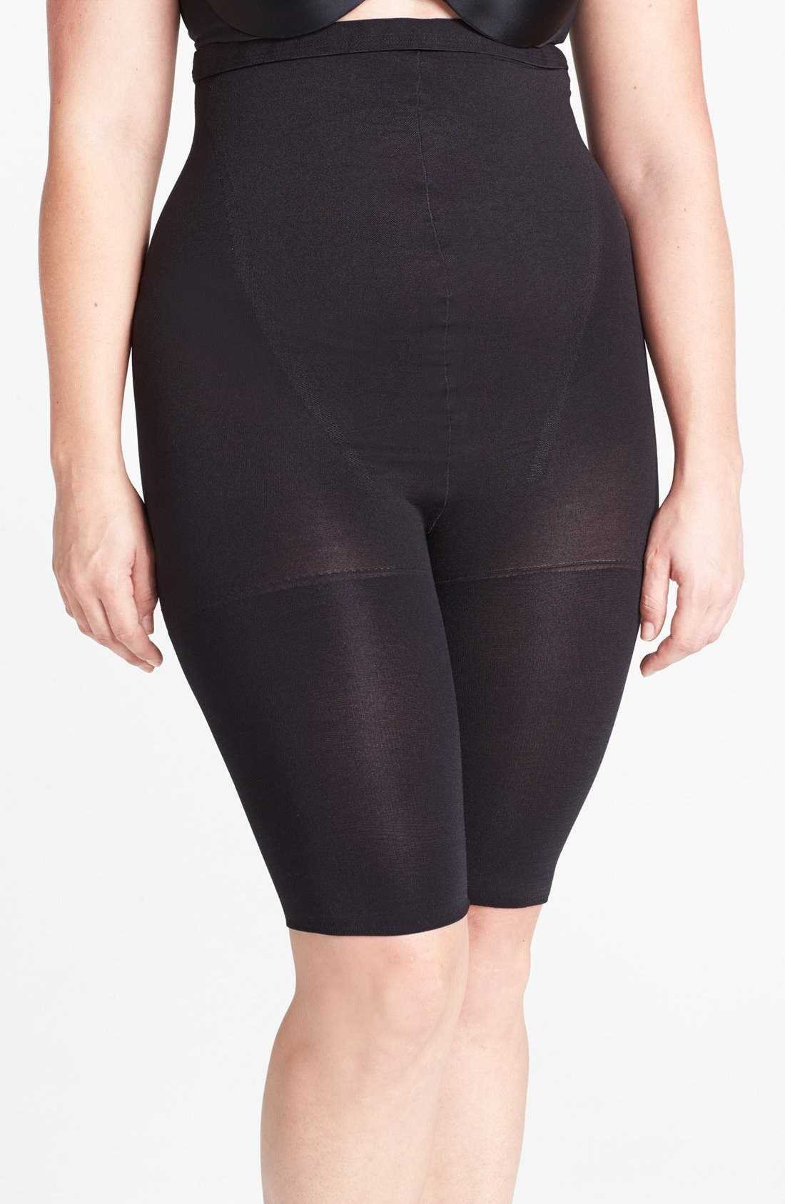 SPANX<SUP>®</SUP>,                             'In-Power Line' Super Higher Power Tummy Control Shaper,                             Alternate thumbnail 5, color,                             001
