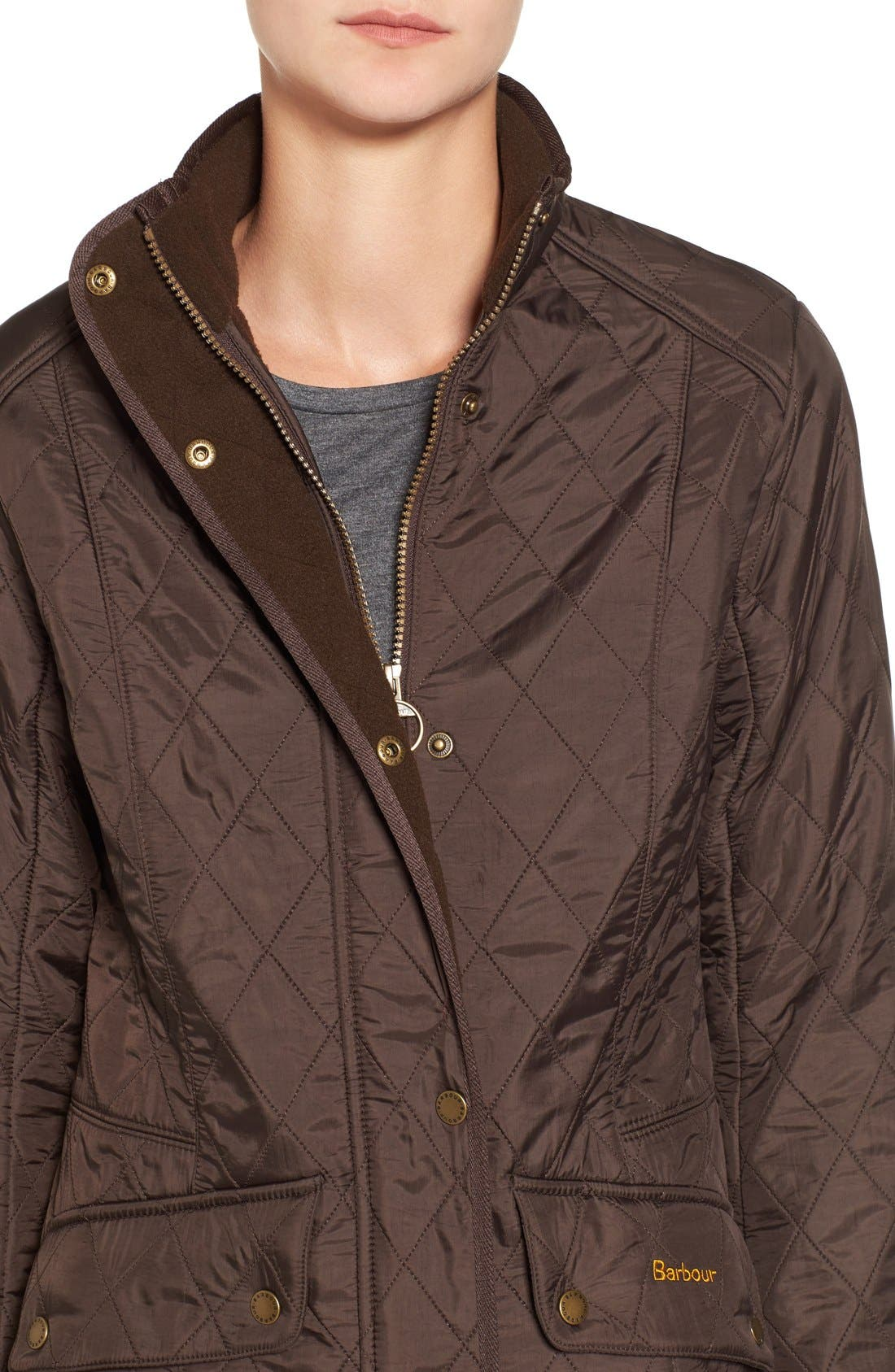 'Cavalry' Quilted Jacket,                             Alternate thumbnail 51, color,