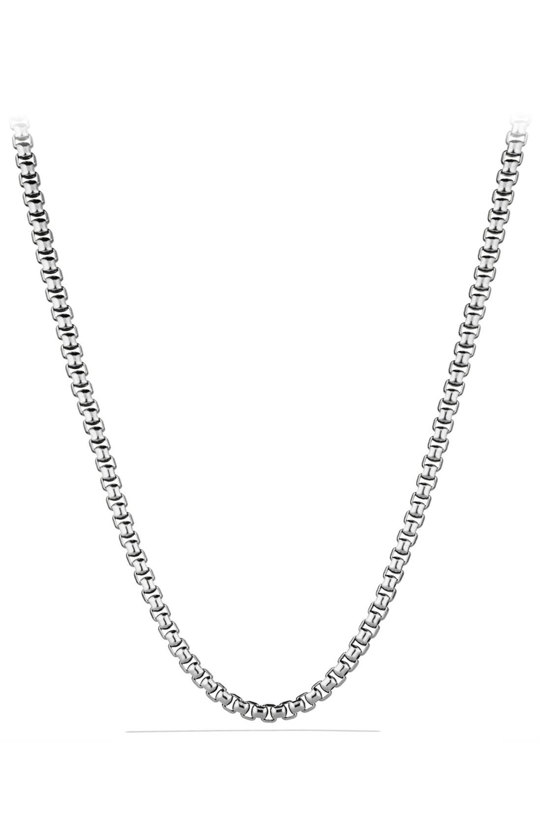 'Chain' Extra-Large Box Chain Necklace, Main, color, 040