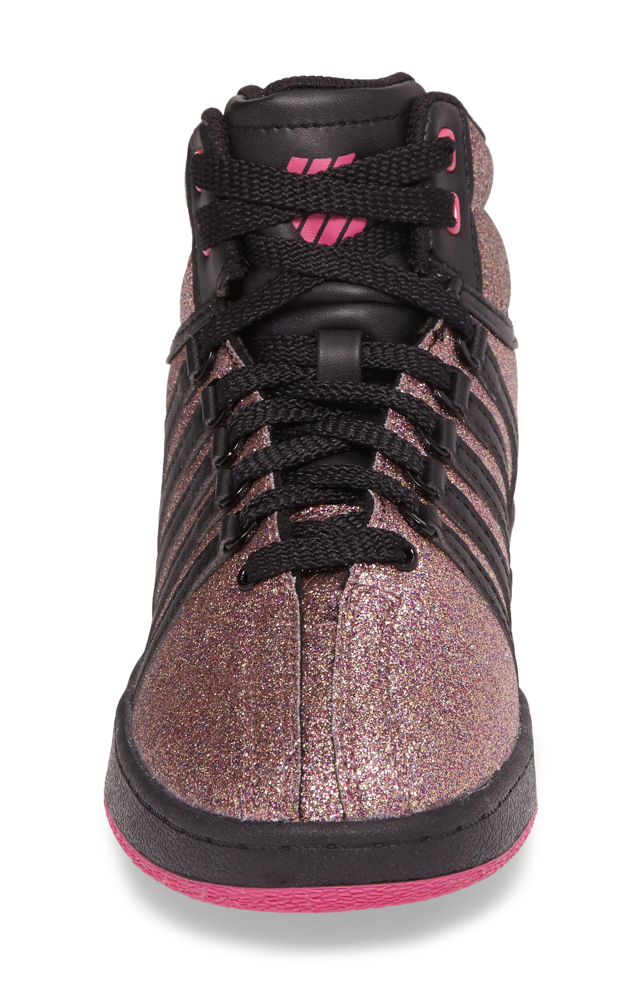 Classic VN Sparkle Mid Sneaker,                             Alternate thumbnail 4, color,                             MULTI SPARKLE