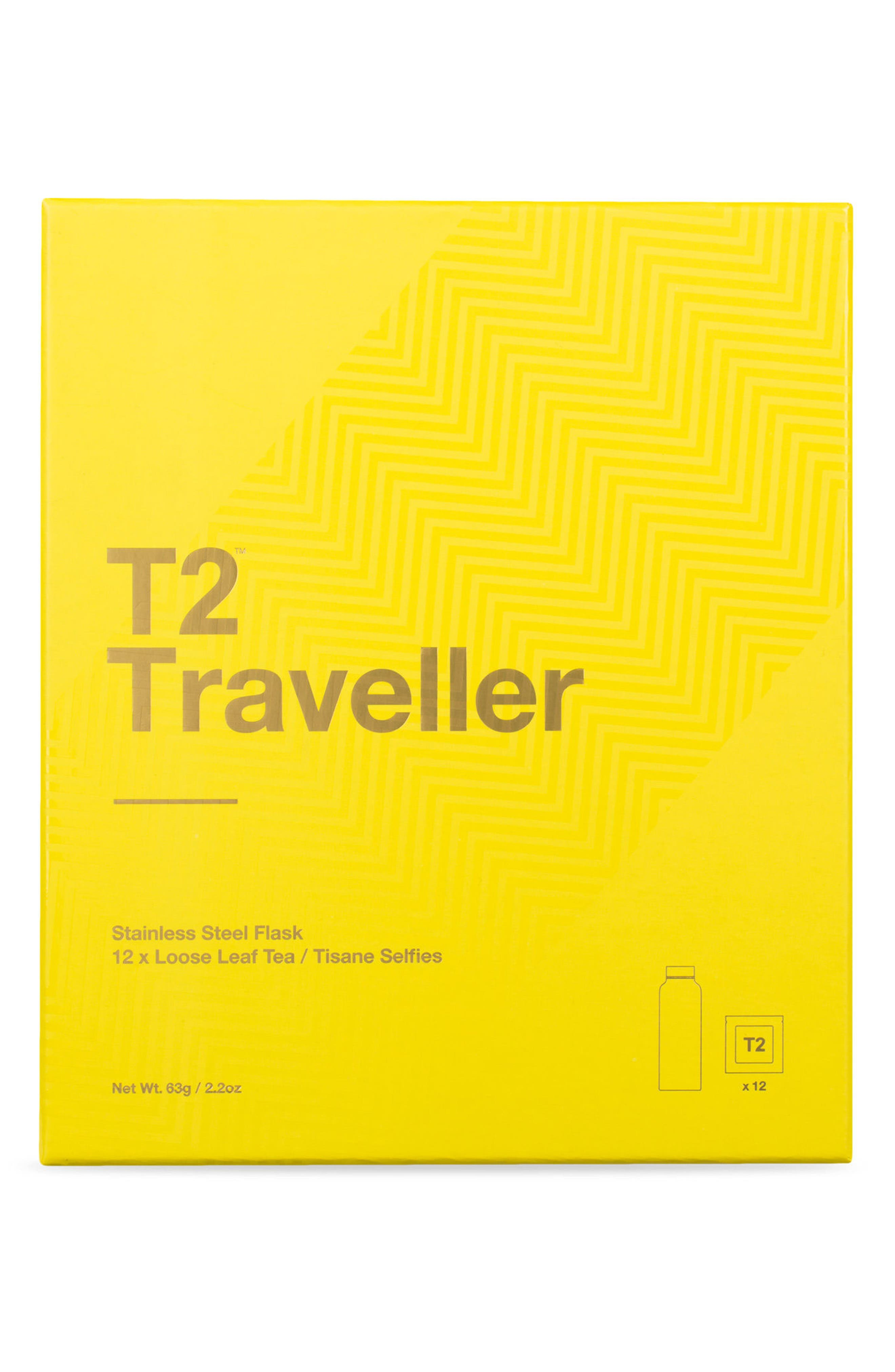 Traveller Stainless Steel Tea Flask,                         Main,                         color, 700