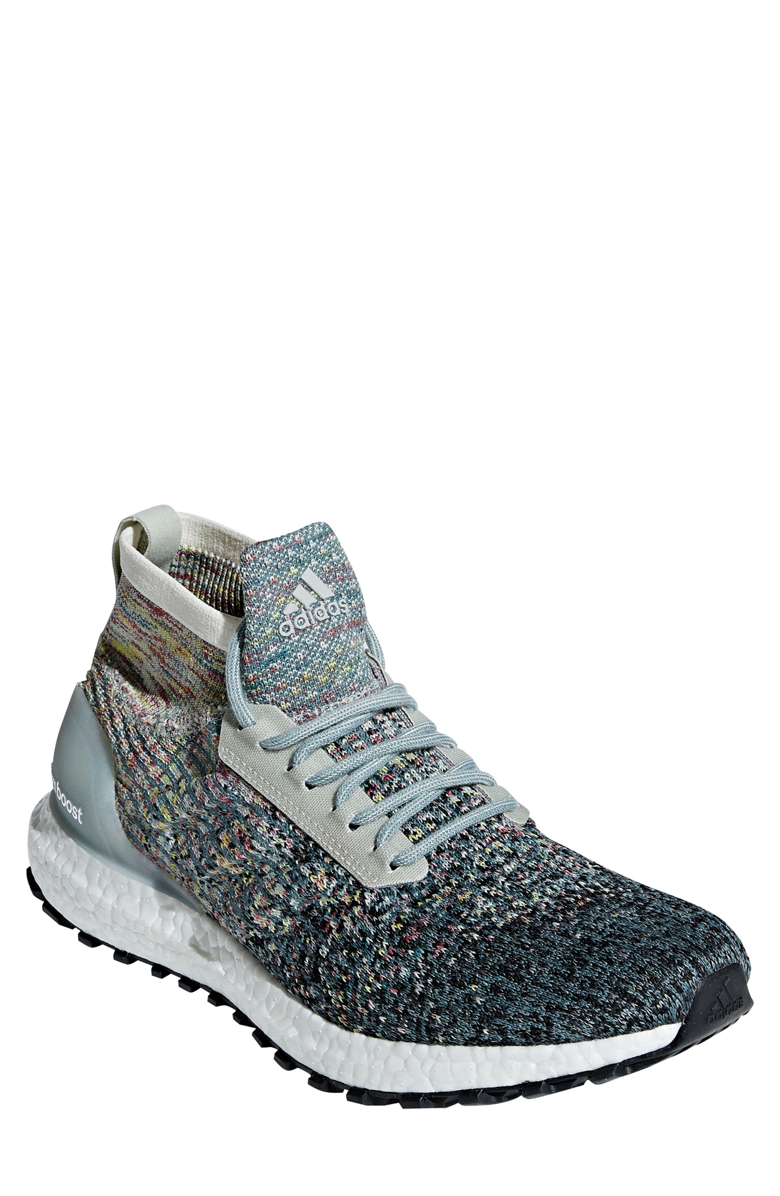 UltraBoost All Terrain LTD Running Shoe,                         Main,                         color, ASH SILVER/ CARBON/ BLACK