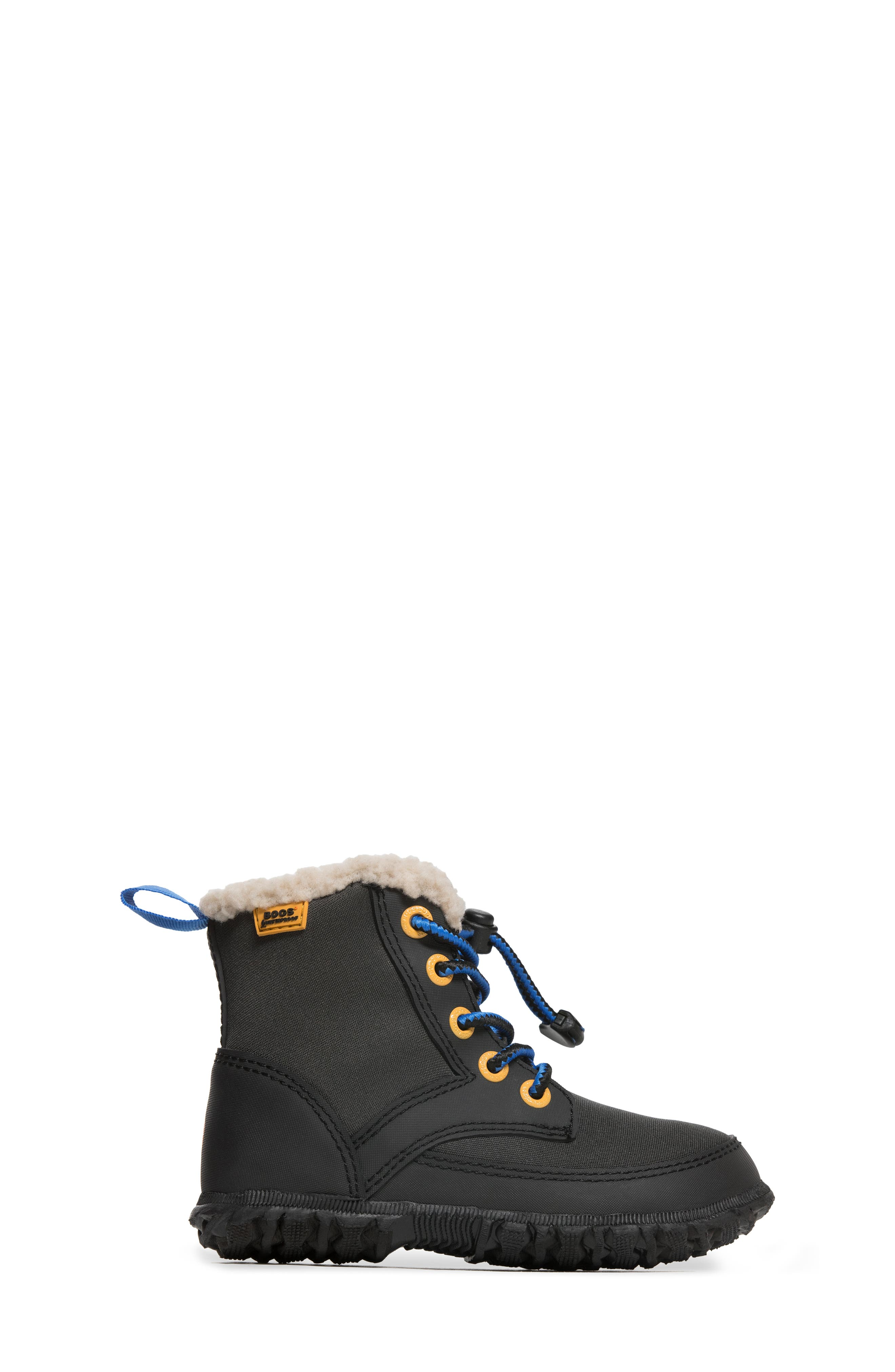 Skyler Faux Fur Insulated Waterproof Boot,                             Alternate thumbnail 7, color,