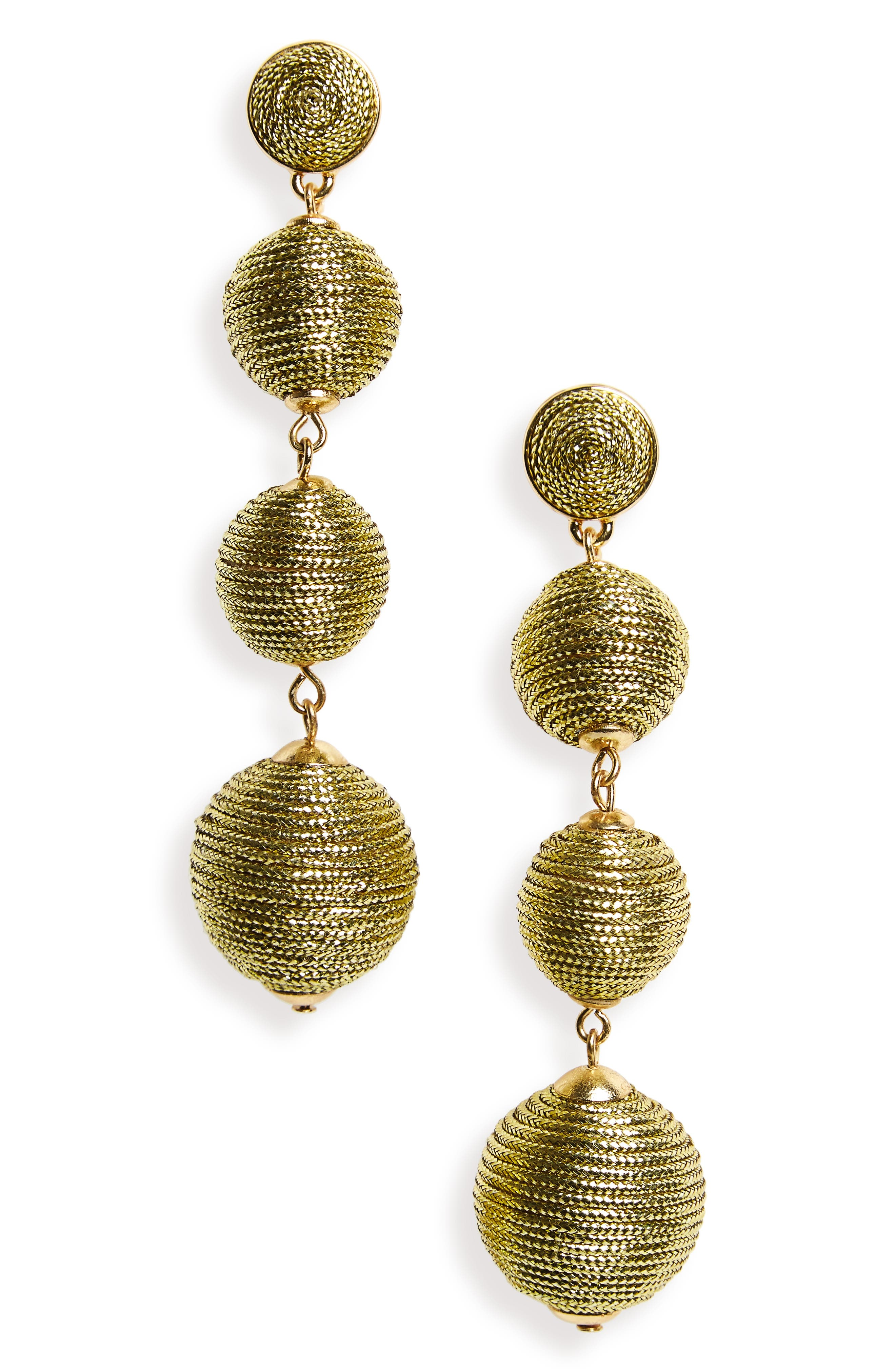 Criselda Ball Shoulder Duster Earrings,                             Main thumbnail 10, color,