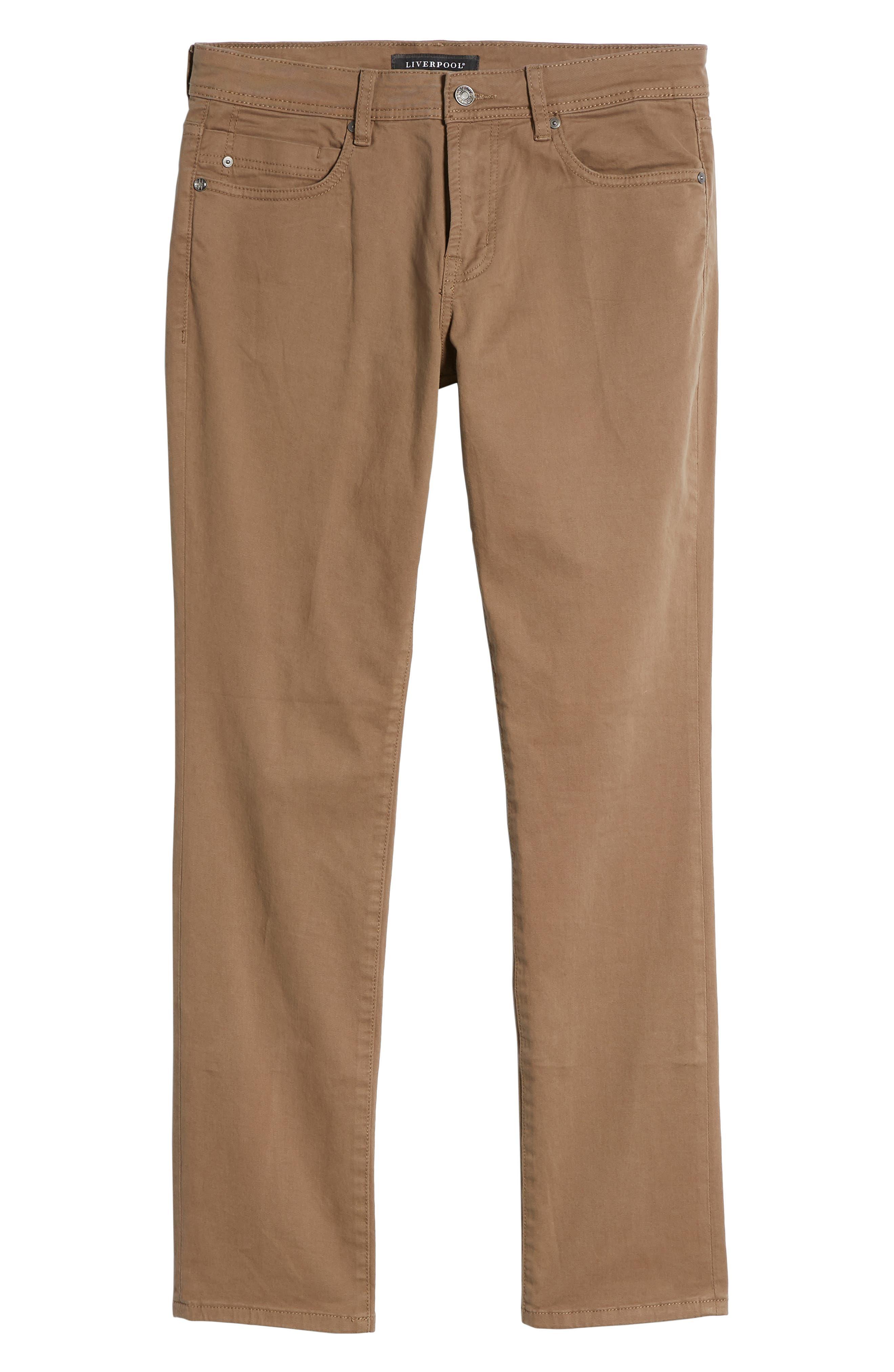 Jeans Co. Kingston Slim Straight Leg Jeans,                             Alternate thumbnail 6, color,                             CUB