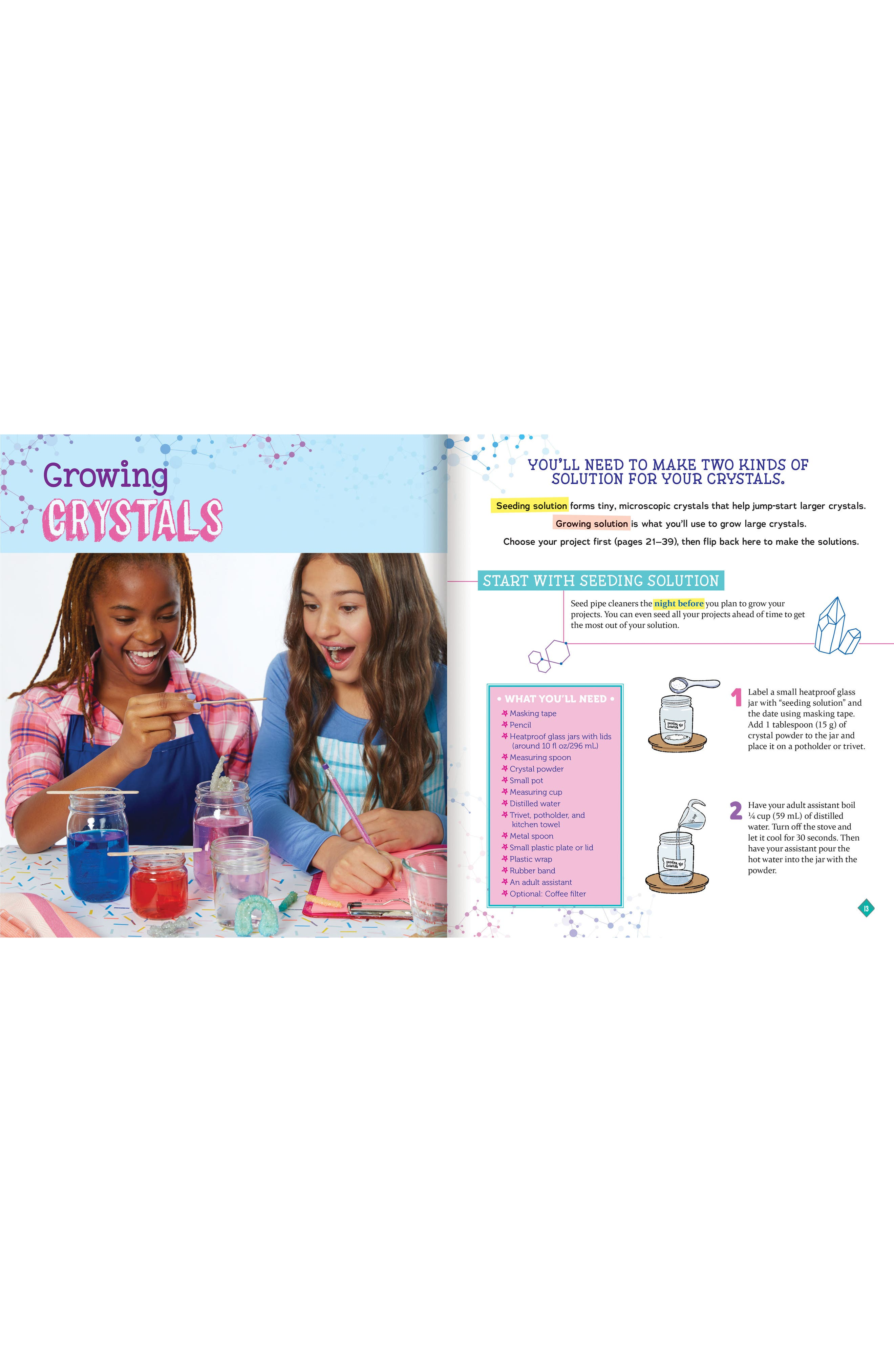 Grow Your Own Crystal Mini Worlds Kit,                             Alternate thumbnail 3, color,                             500
