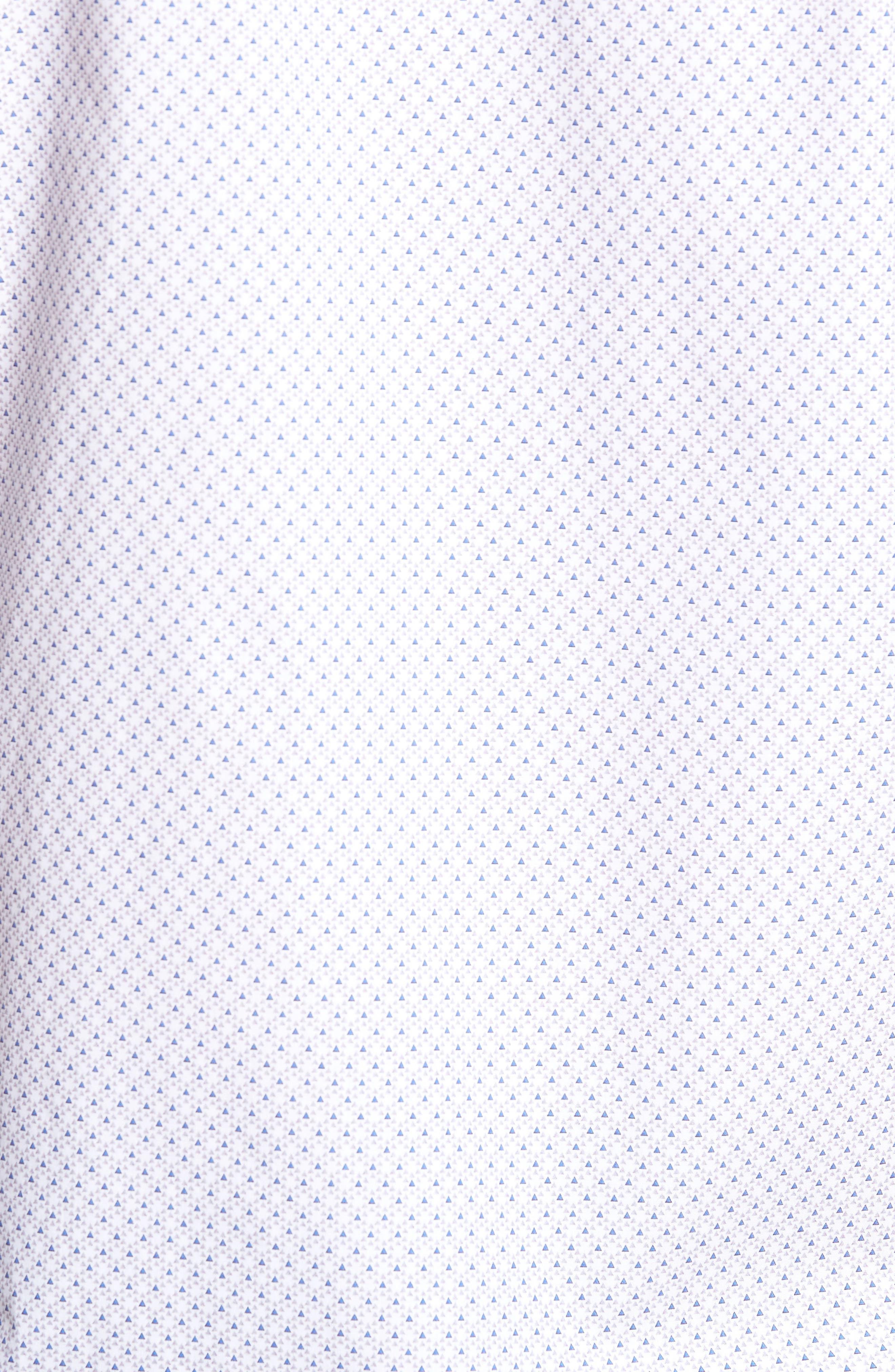 Regular Fit Print Sport Shirt,                             Alternate thumbnail 5, color,                             020