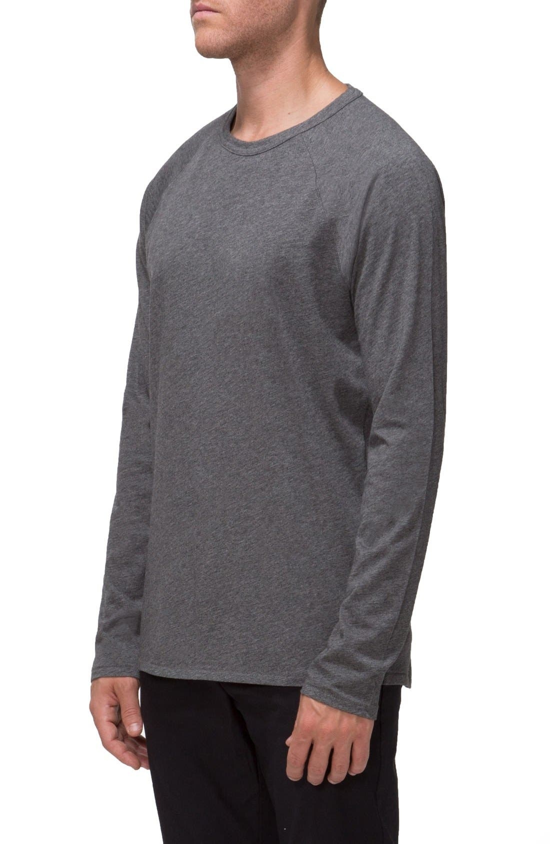 'Covert II' Raglan Long Sleeve T-Shirt,                             Alternate thumbnail 7, color,