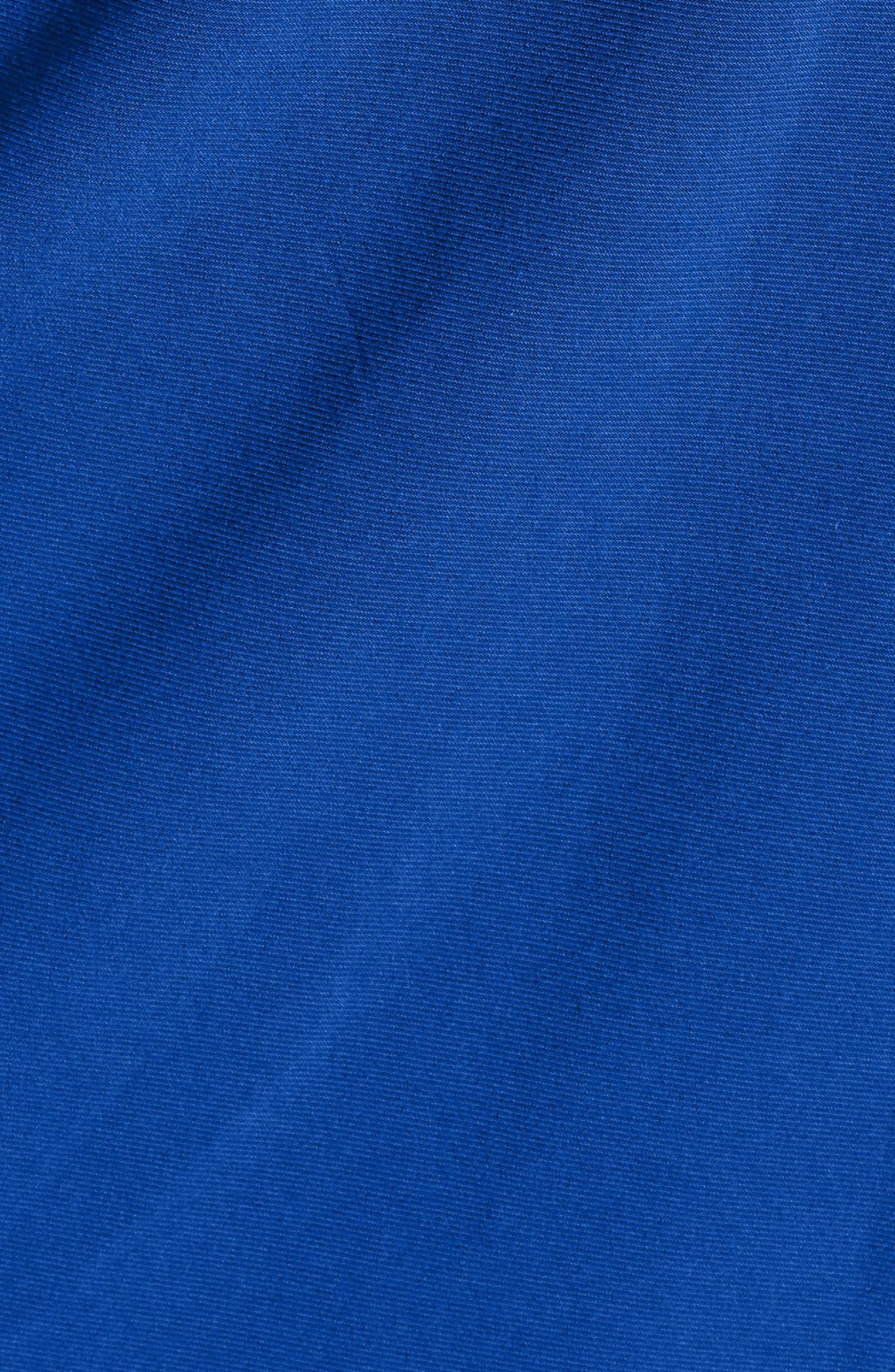 Faux Wrap Dress,                             Alternate thumbnail 7, color,                             CEZANNE BLUE