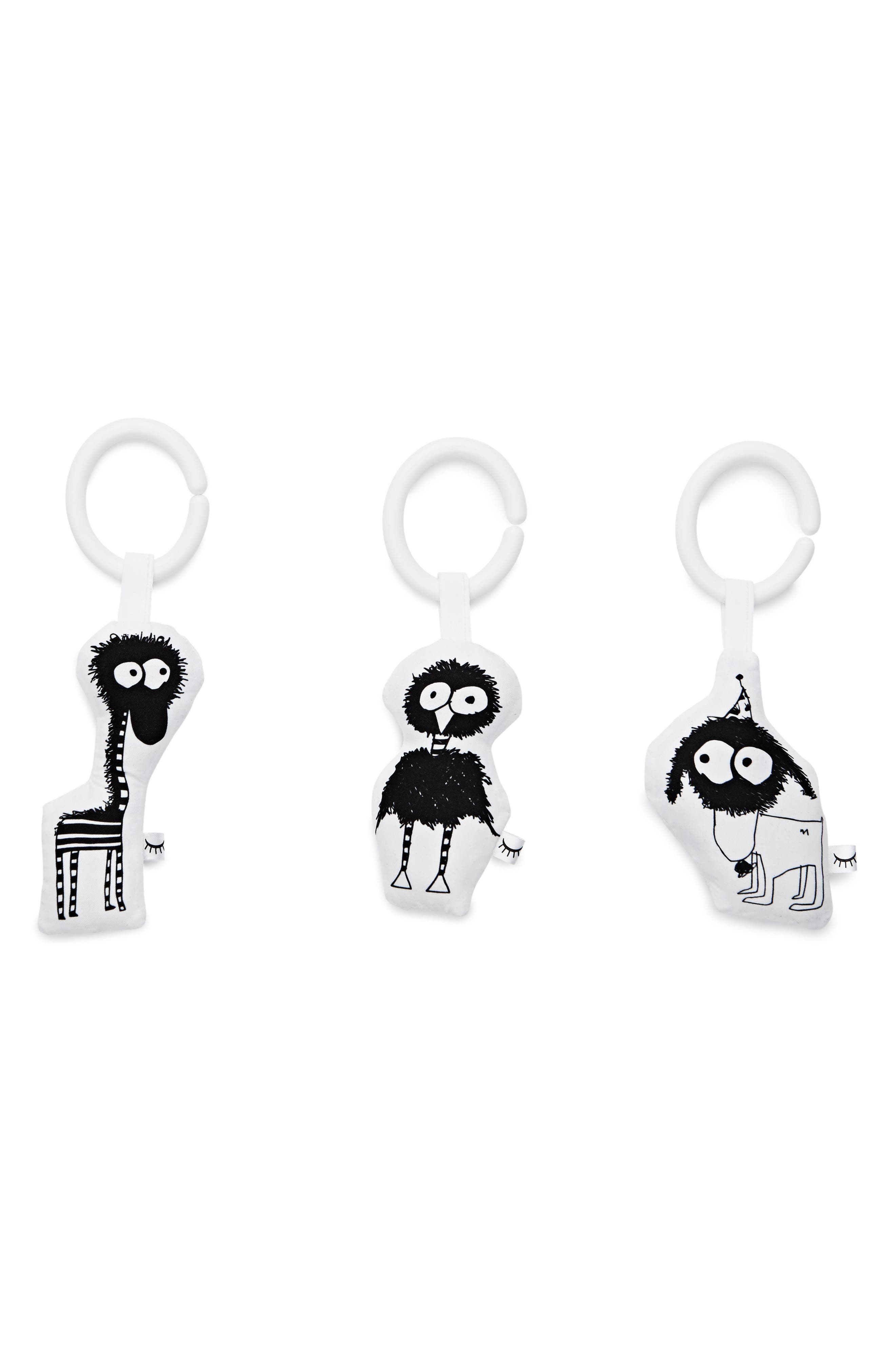 3-Piece Hanging Toy Set,                         Main,                         color, 002