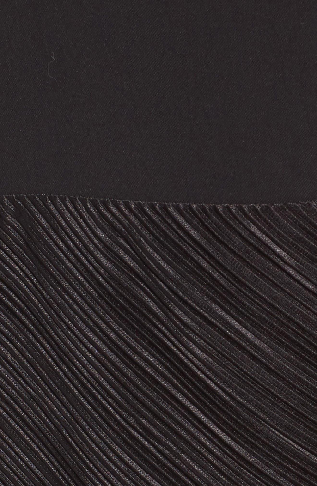 NBD,                             Evelyn T-Back Dress,                             Alternate thumbnail 5, color,                             001